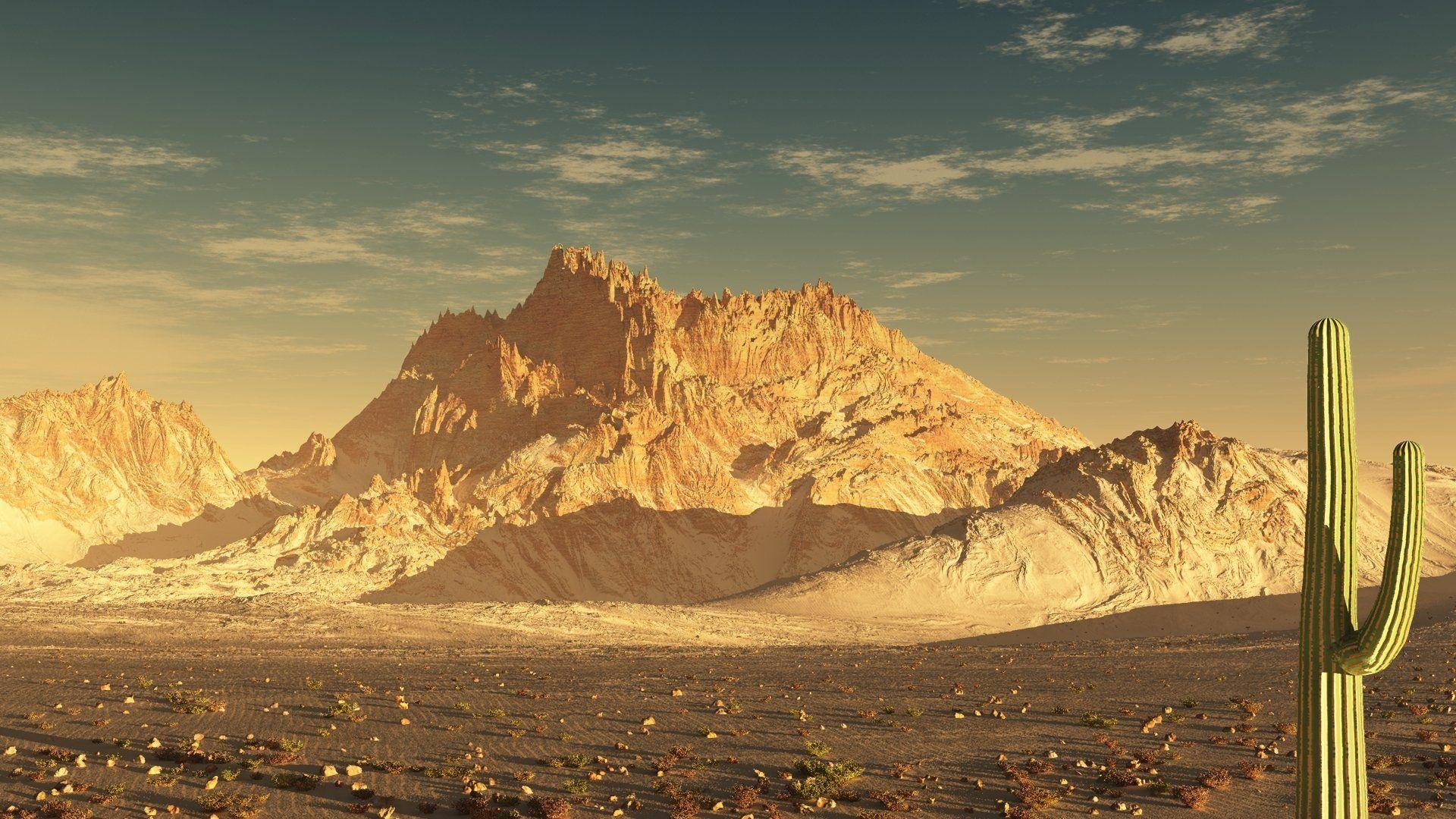 Desert Foothills Landscape desktop background free