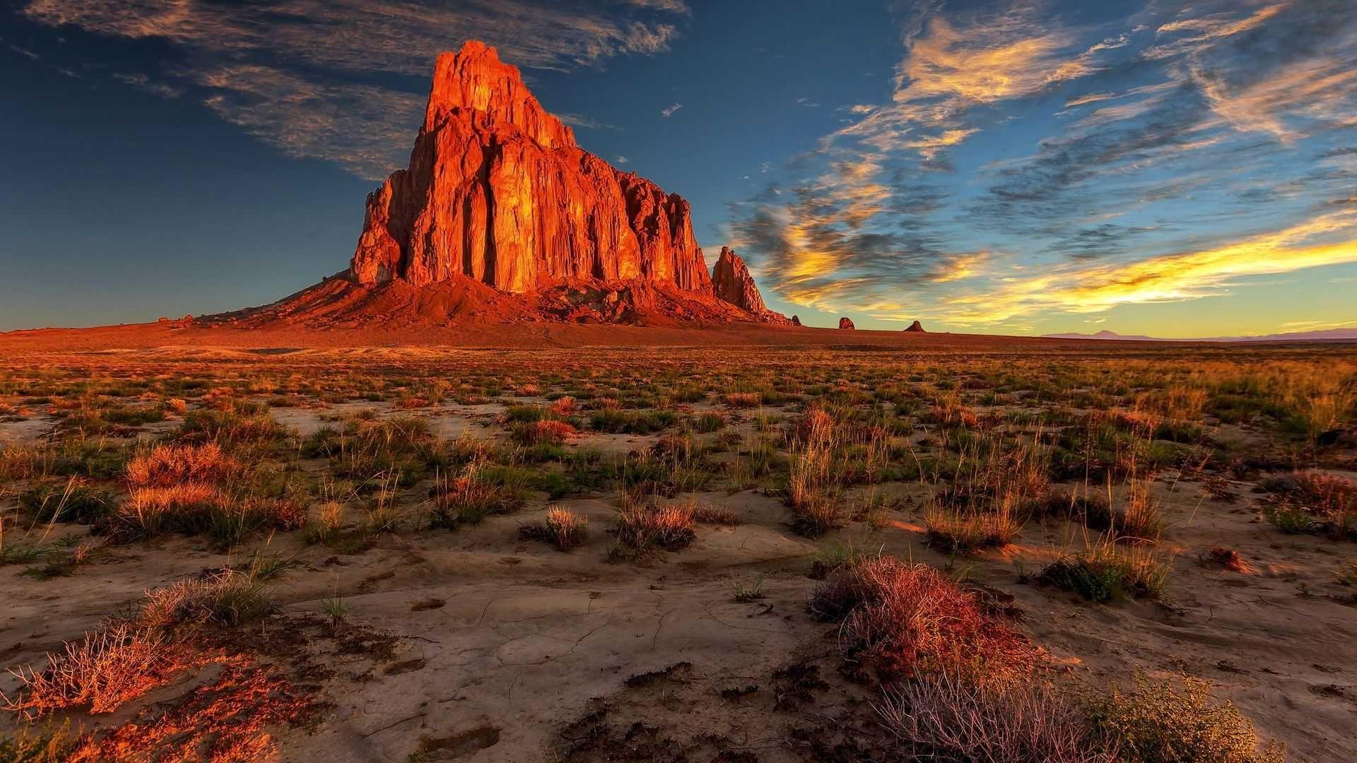 Desert Foothills Landscape 1080p