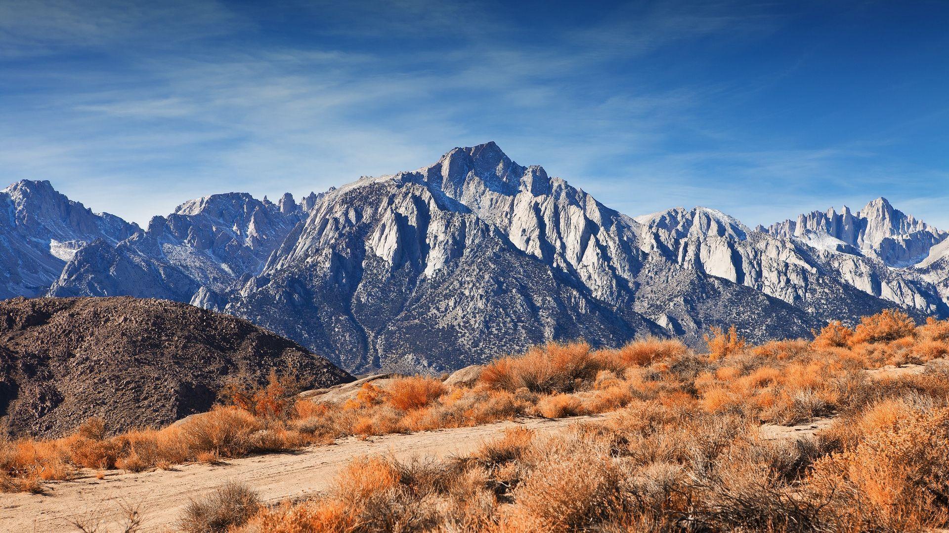 Desert Foothills Landscape hd desktop