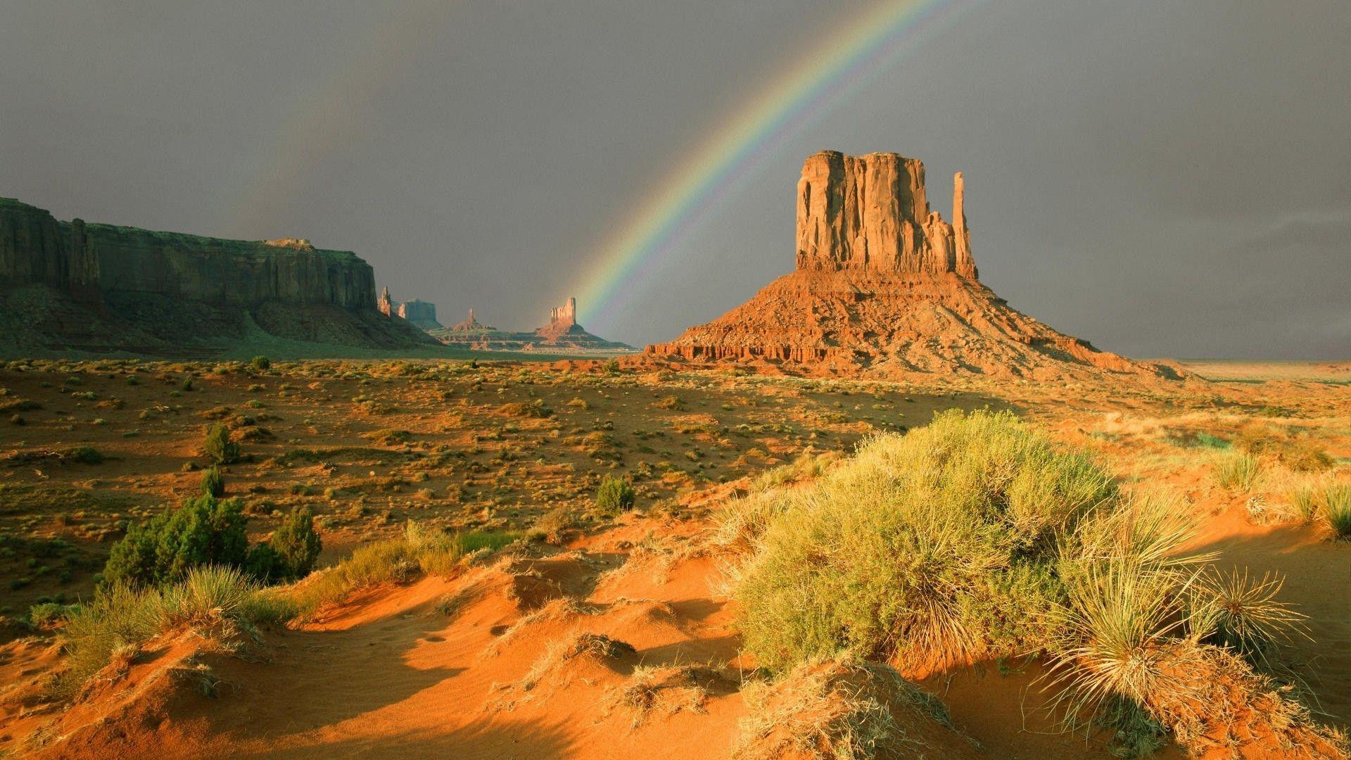 Desert Foothills Landscape free desktop background