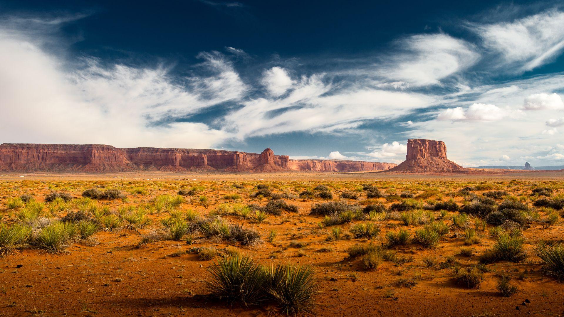 Desert Foothills Landscape wallpaper picture