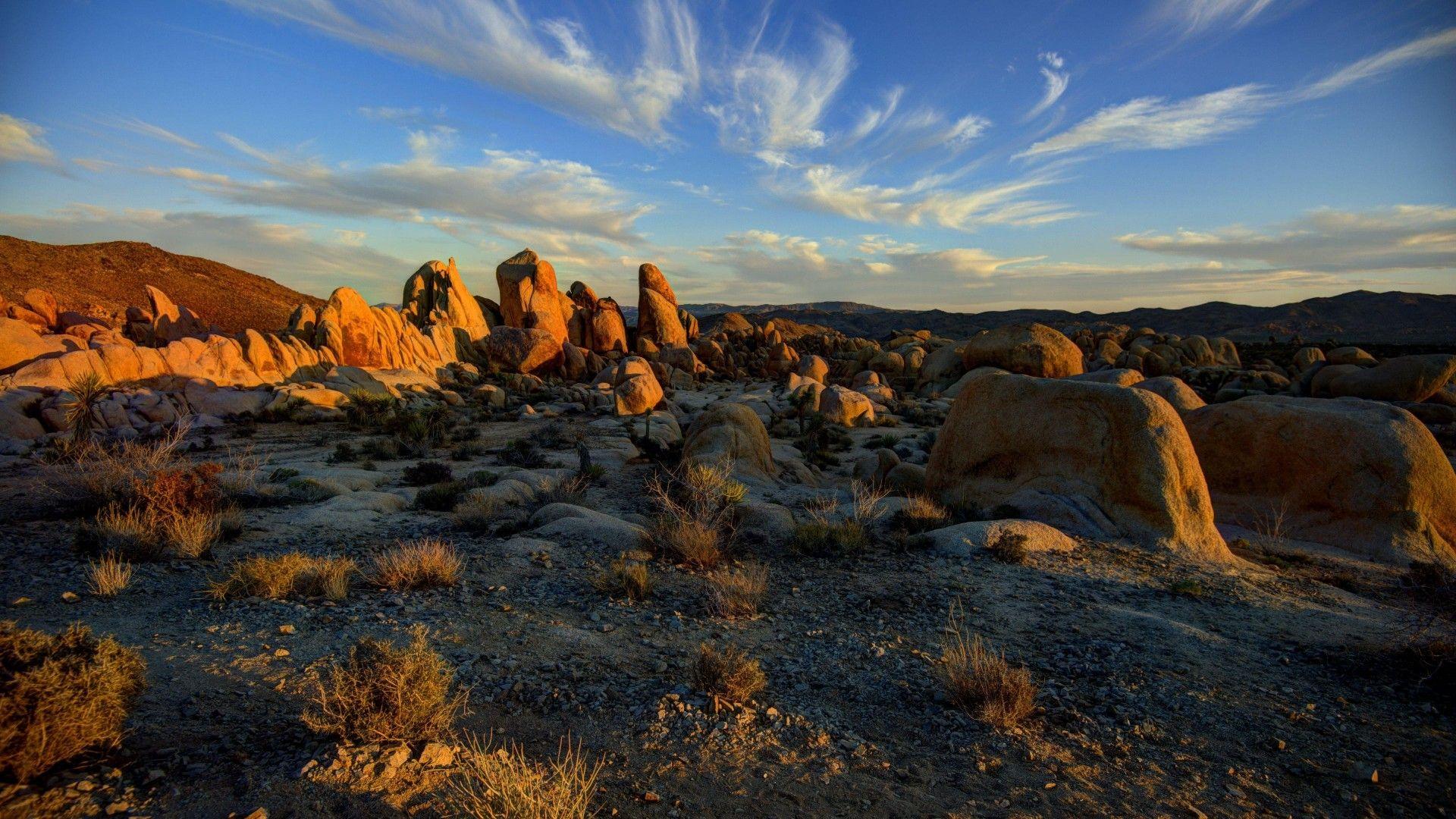 Desert Foothills Landscape picture free download
