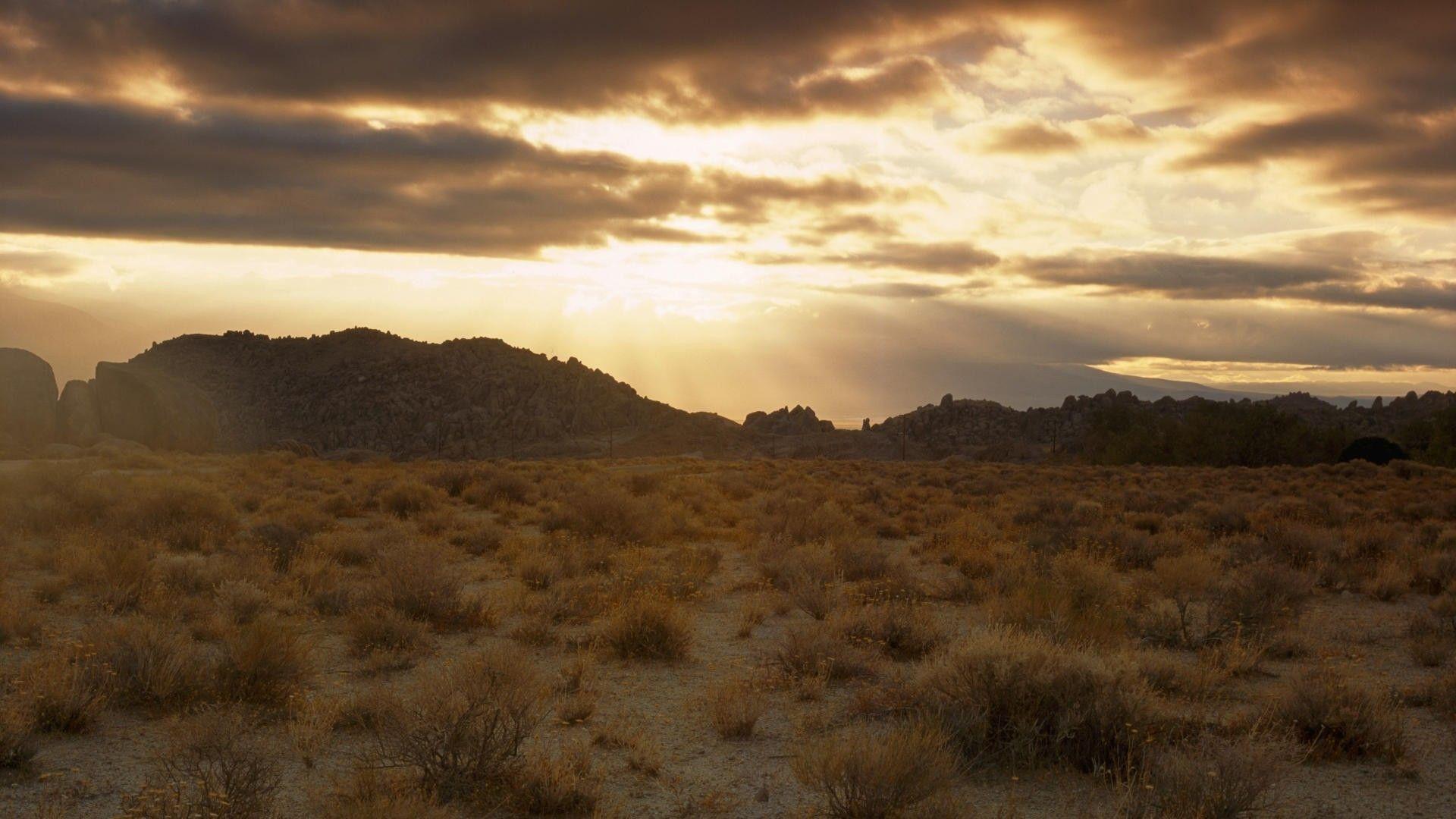 Desert Foothills Landscape good background