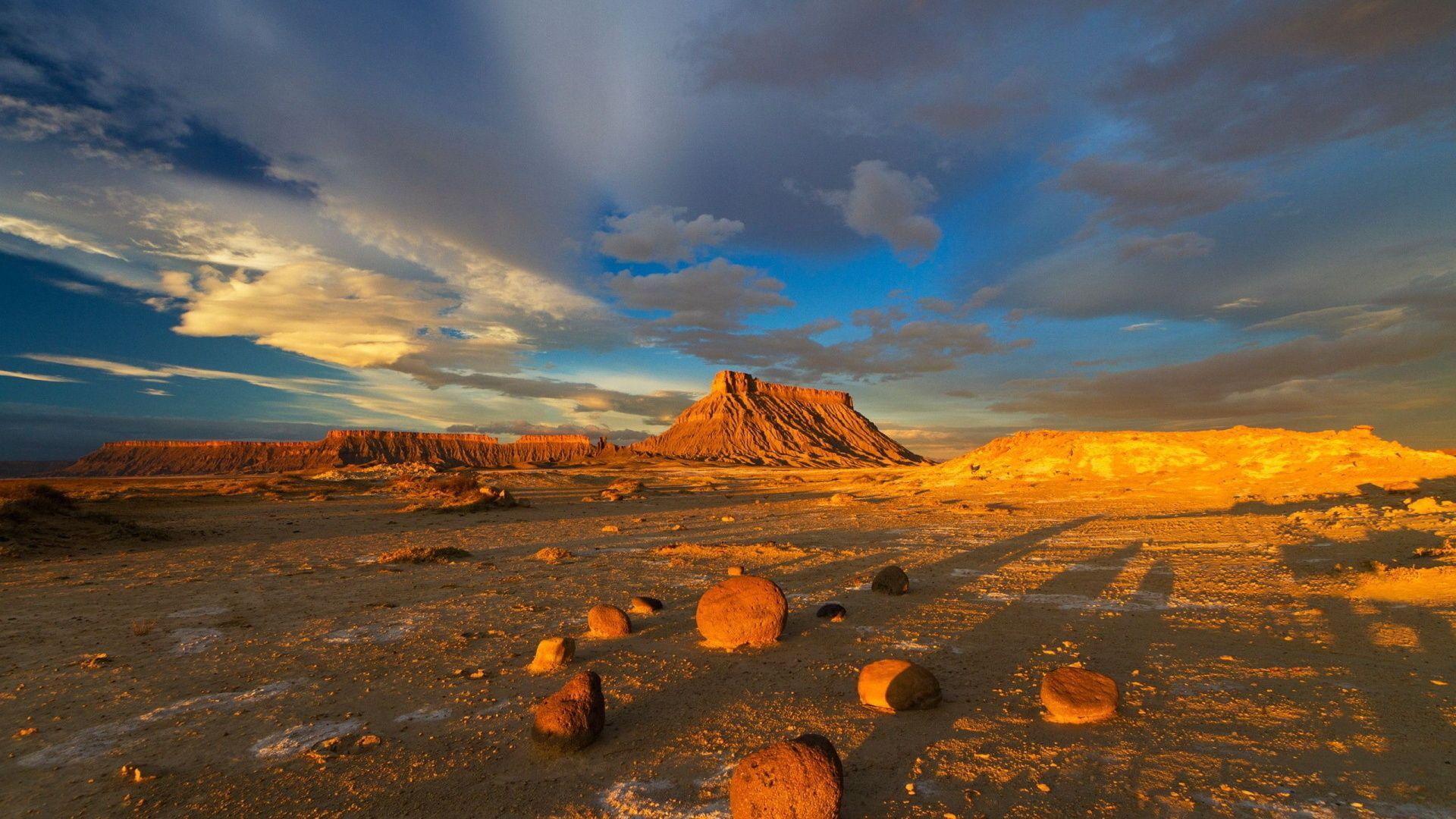 Desert Foothills Landscape wallpaper
