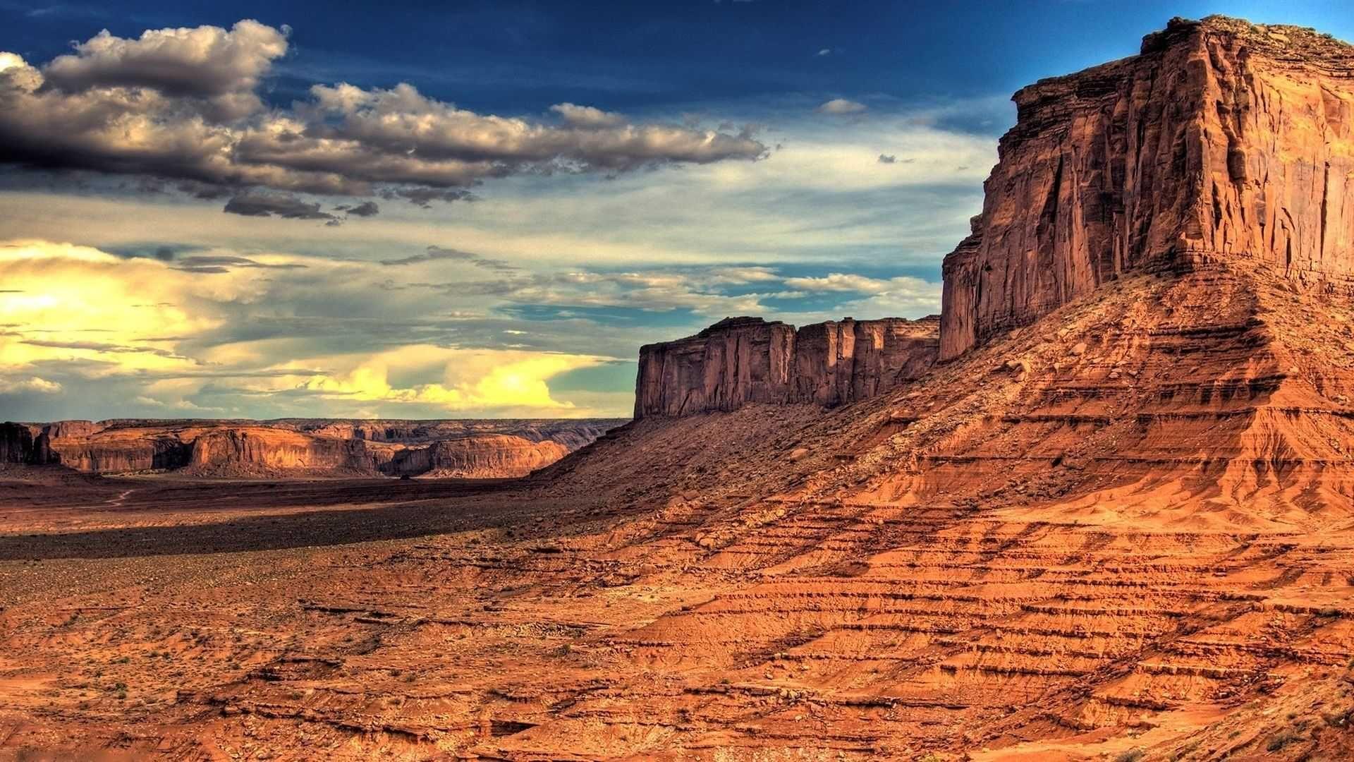 Desert Foothills Landscape picture