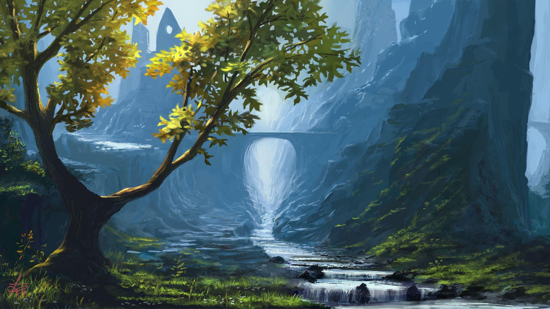 Digital Art Background nice wallpaper