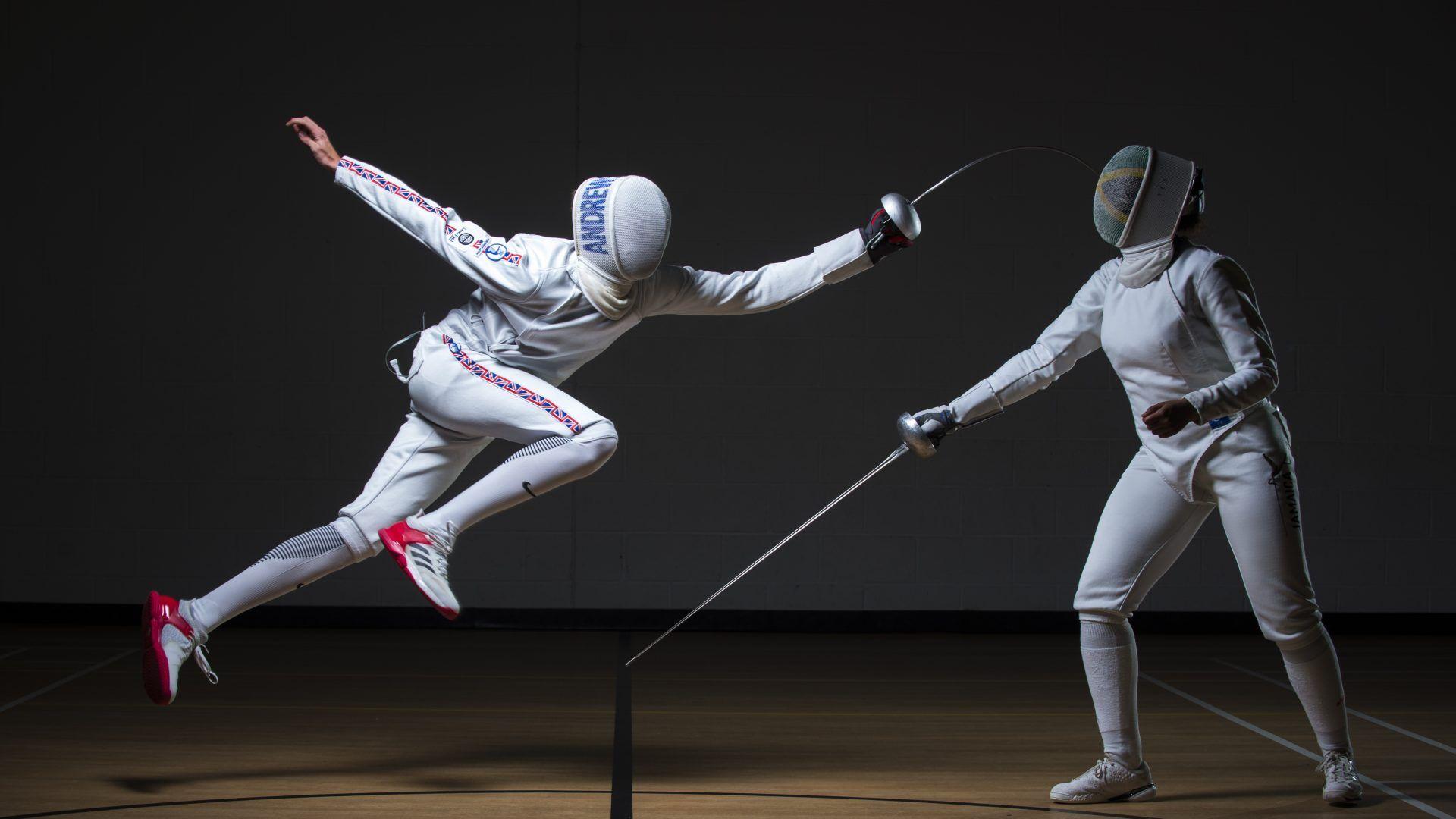 Fencing wallpaper for laptop