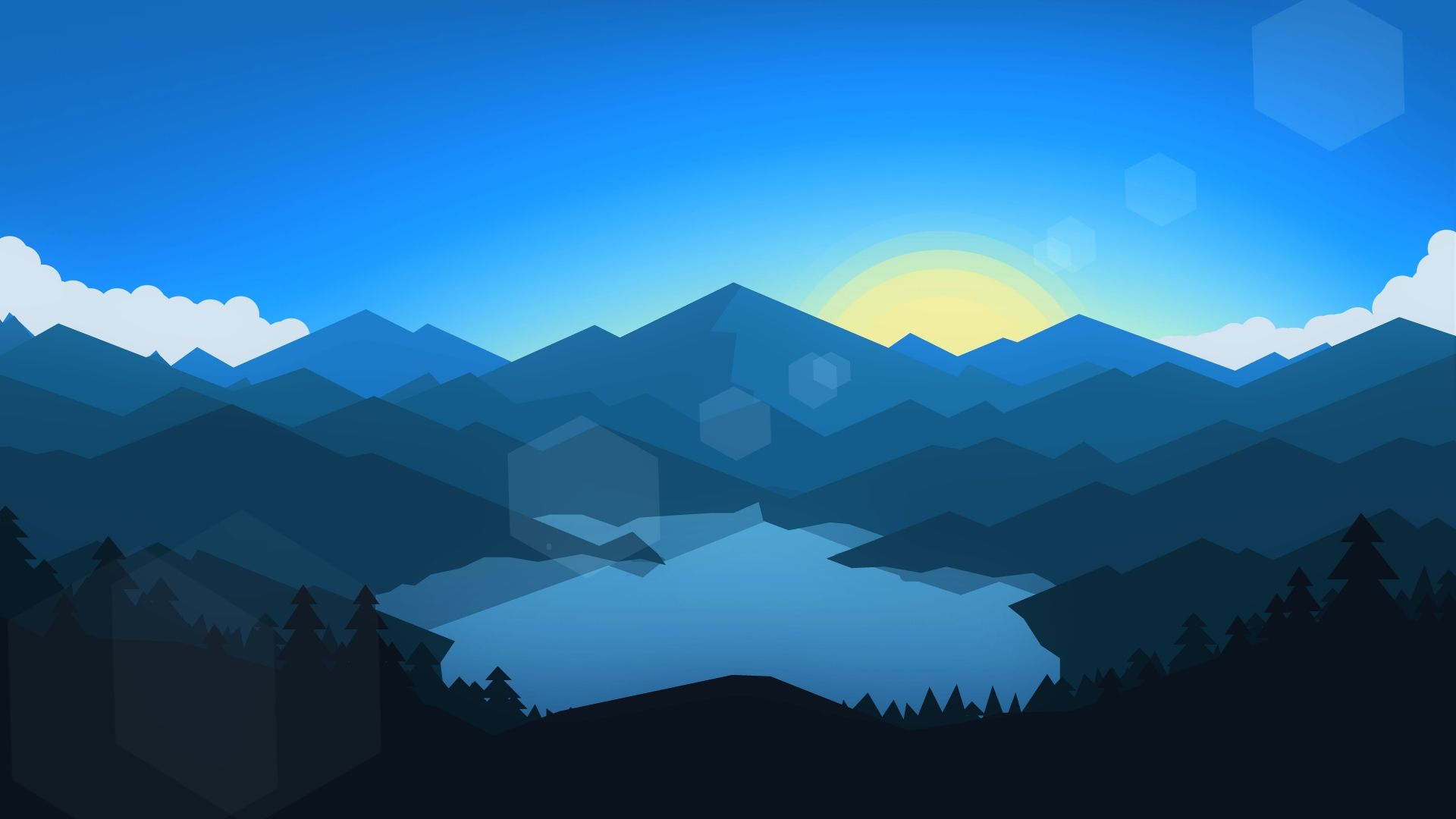 Free Mountain Vector image