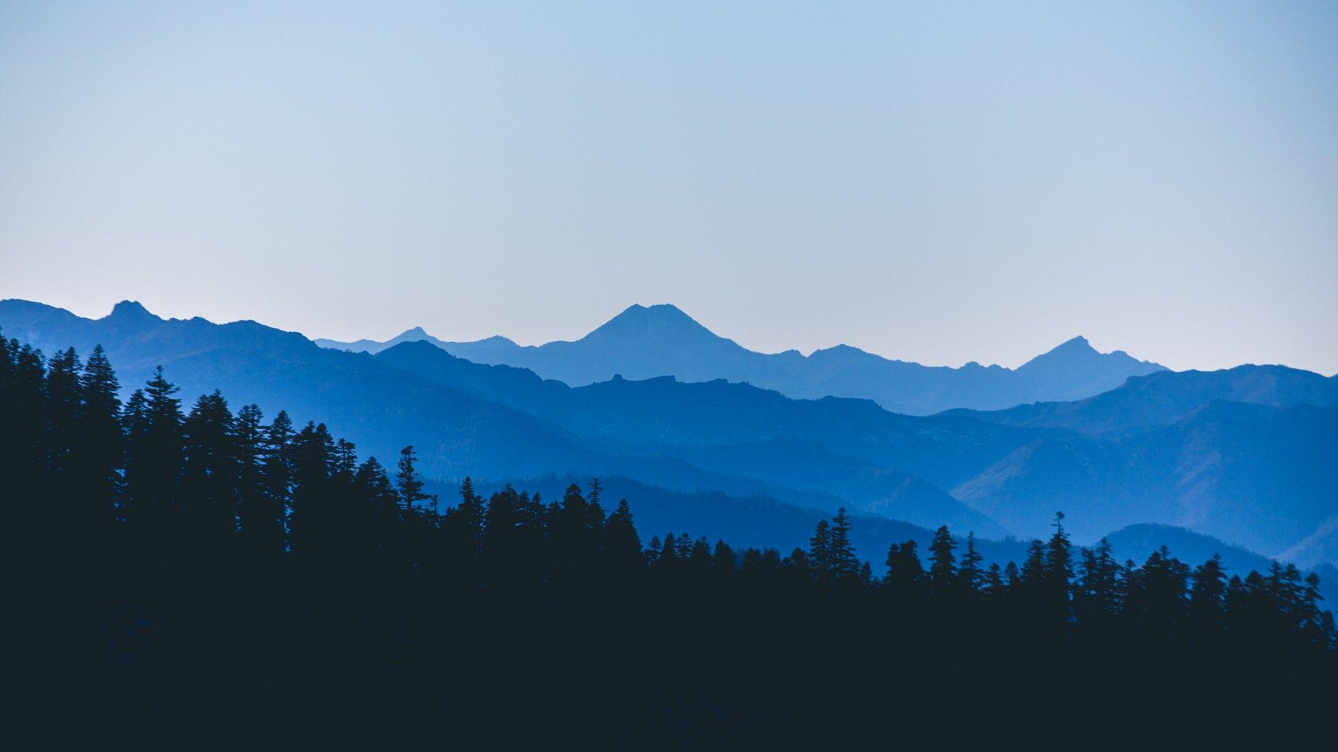 Free Mountain Vector image