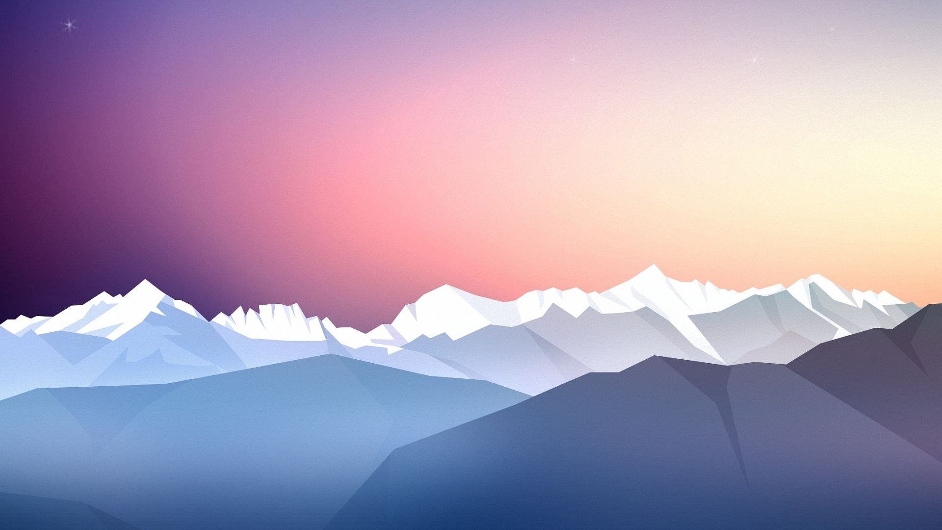 Free Mountain Vector 1080p background
