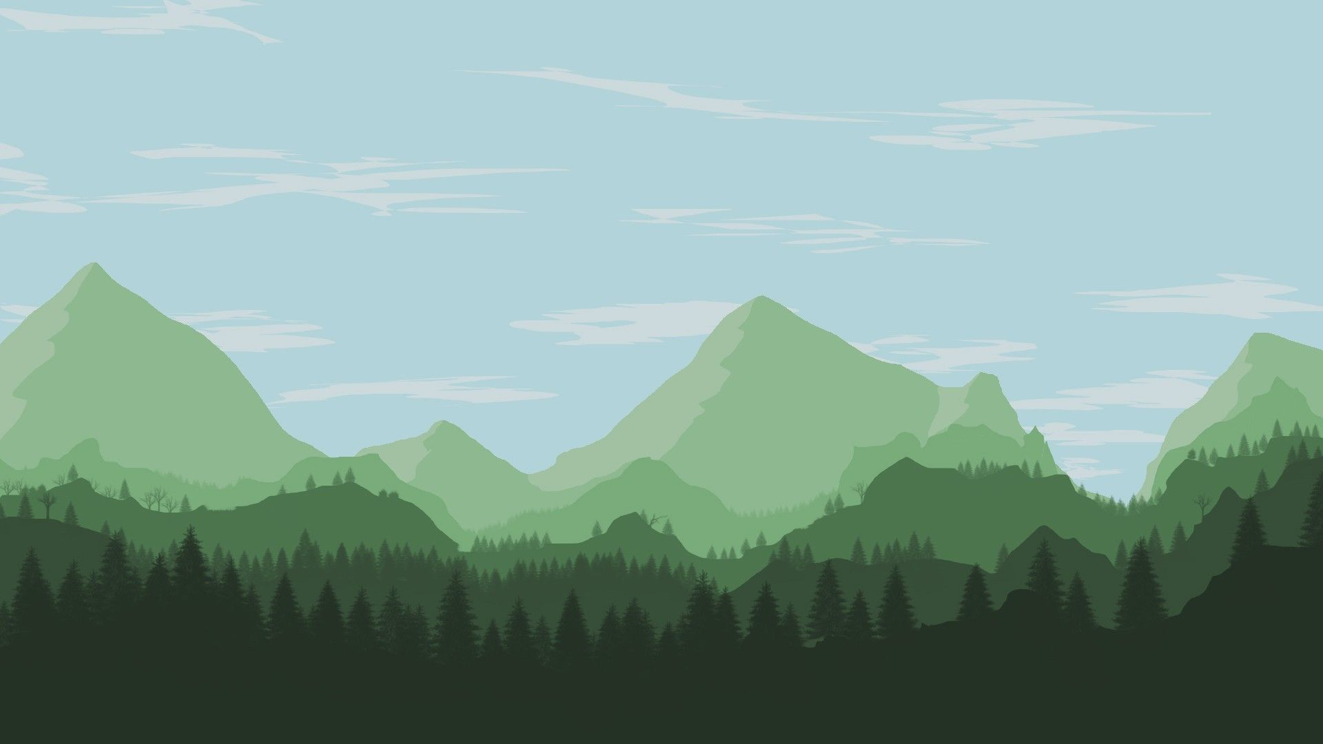 Free Mountain Vector background picture hd