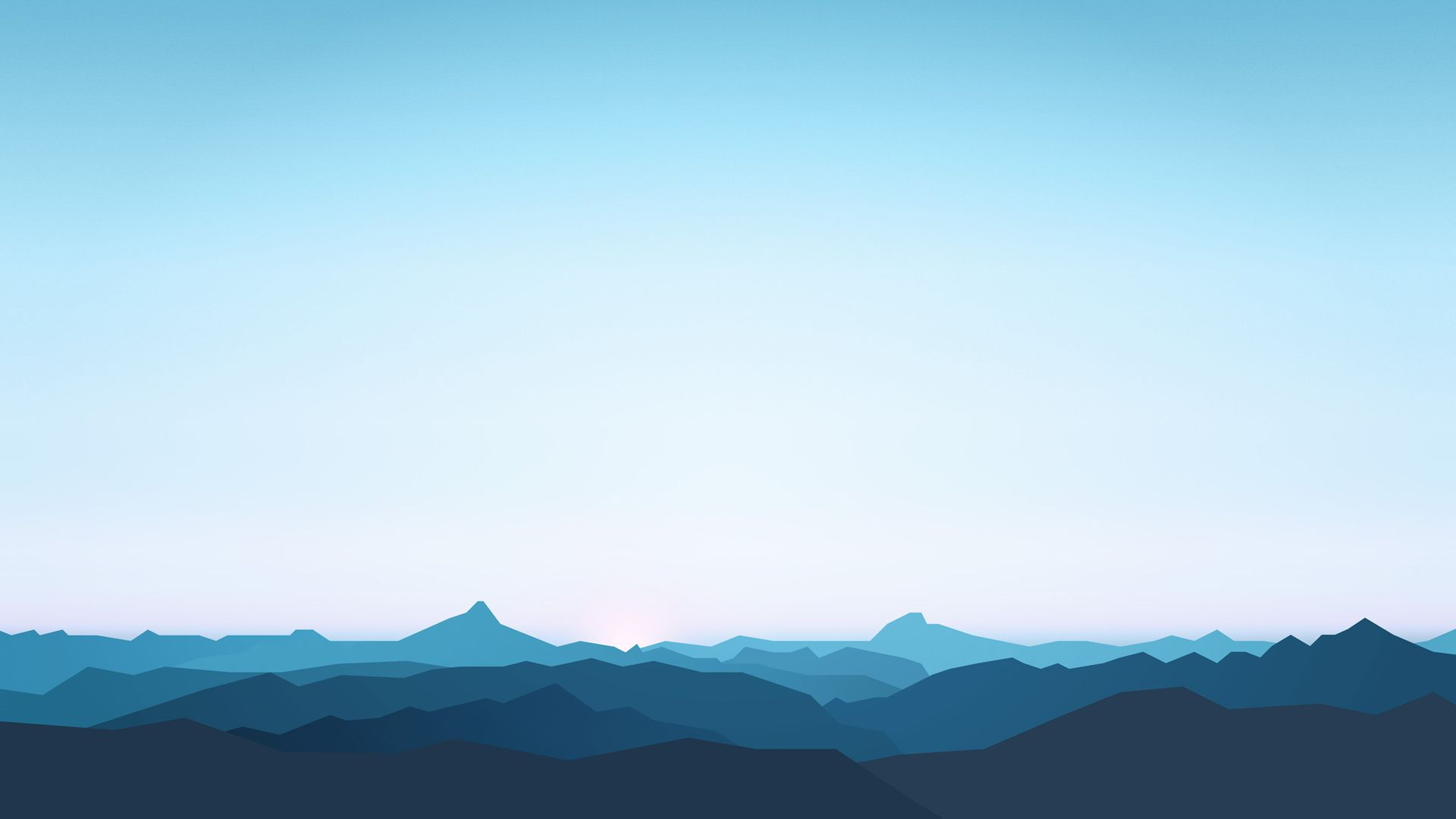 Free Mountain Vector desktop wallpaper