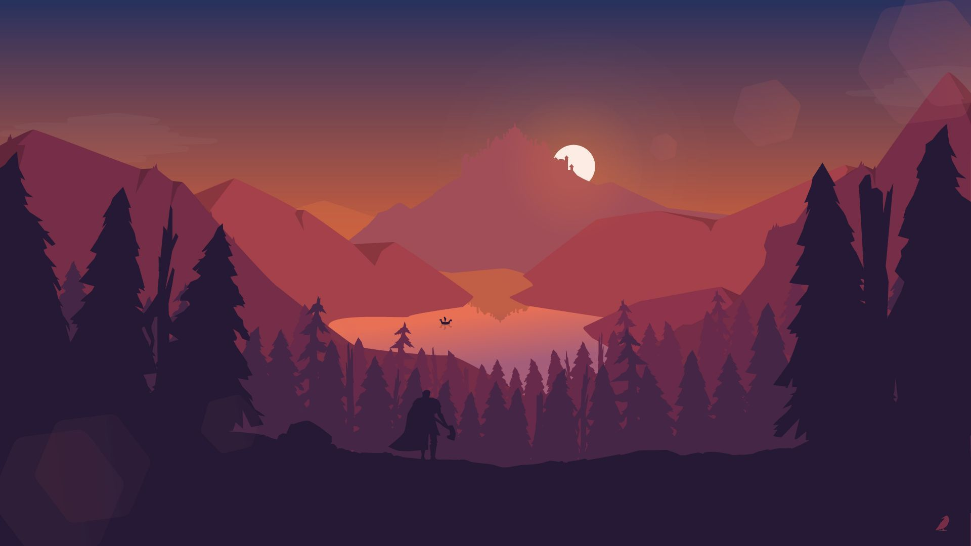 Free Mountain Vector 1080p picture