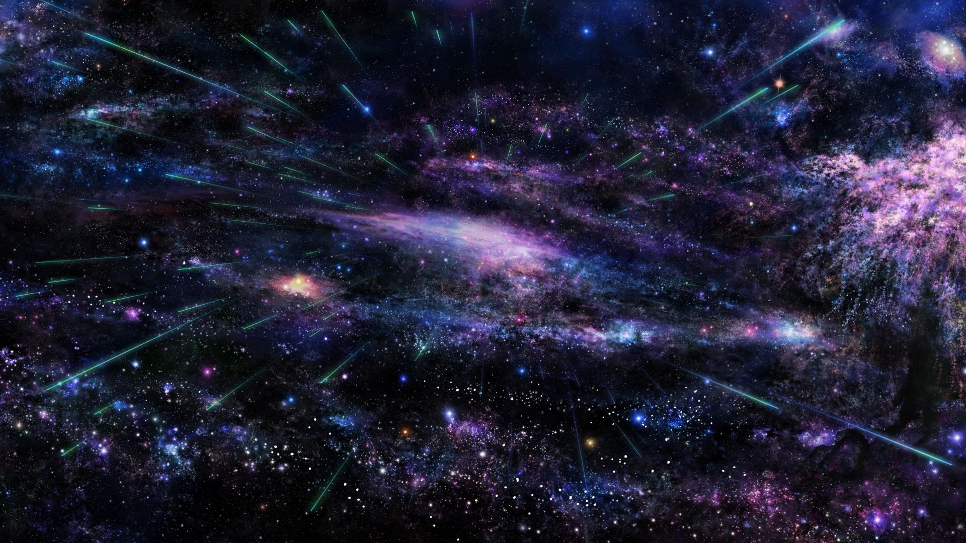 Free Space Background 1080p