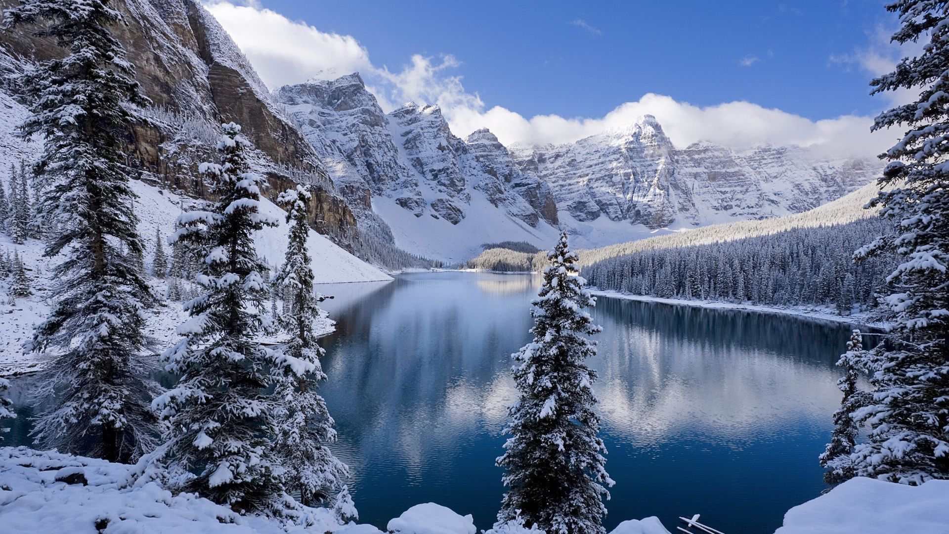 Free Winter 1080p background