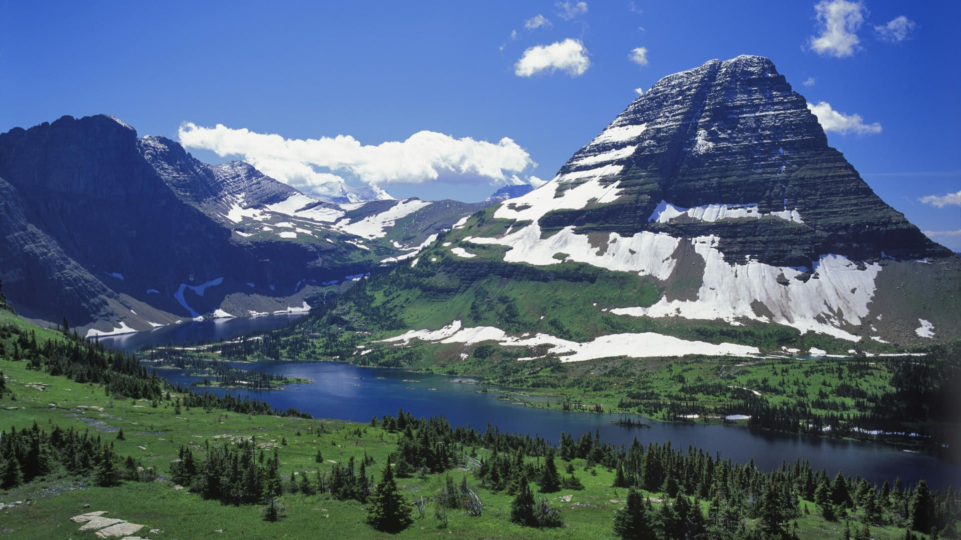 Glacier National Park laptop wallpaper