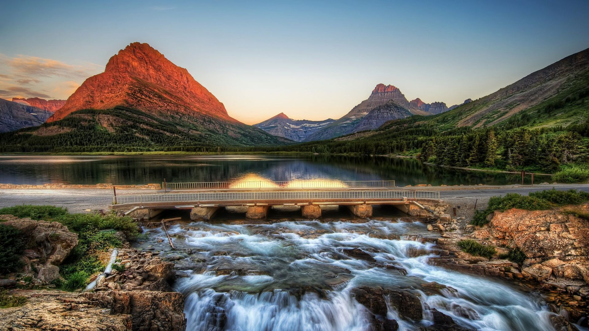 Glacier National Park free wallpaper for desktop
