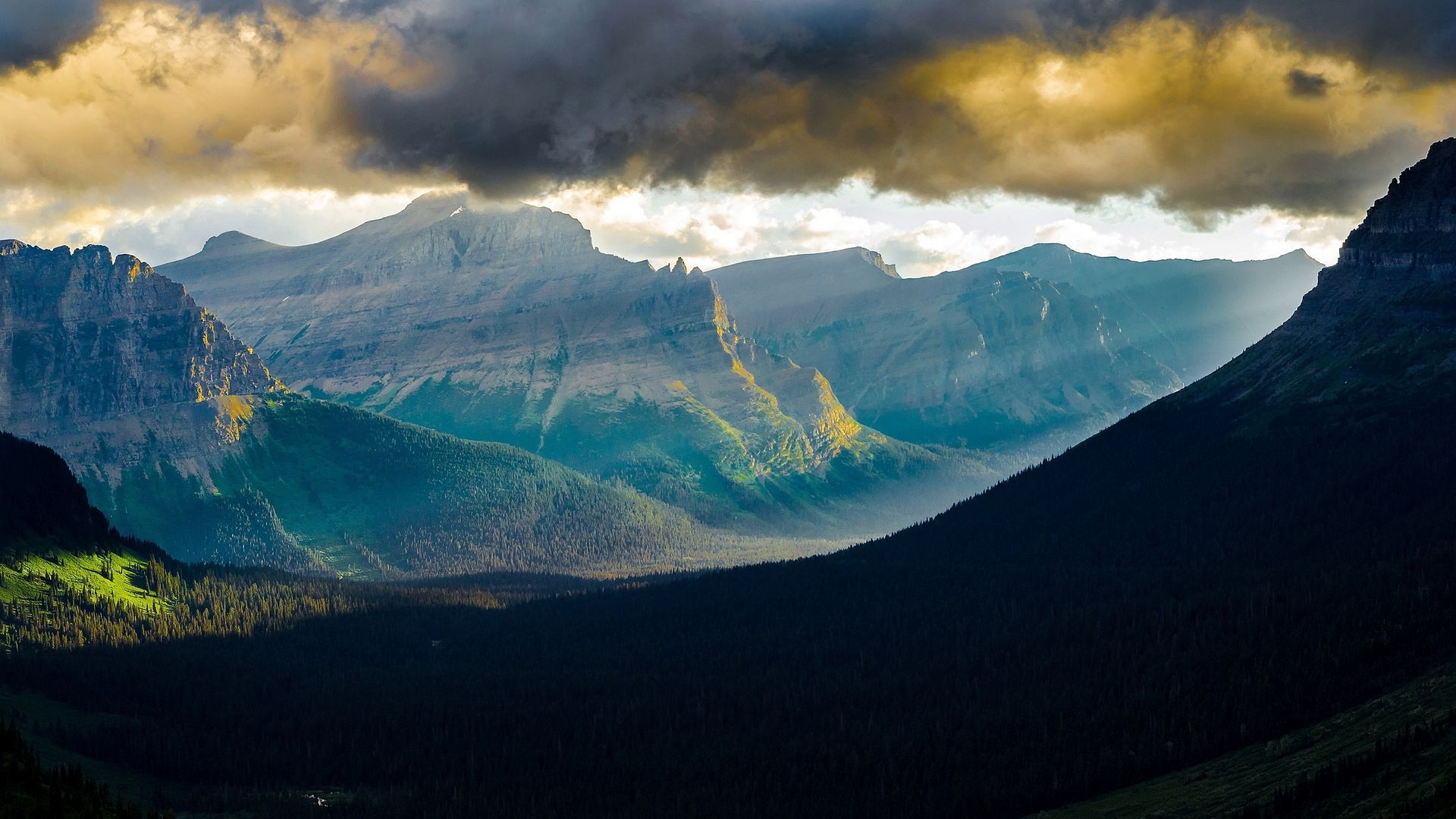 Glacier National Park 1080p picture