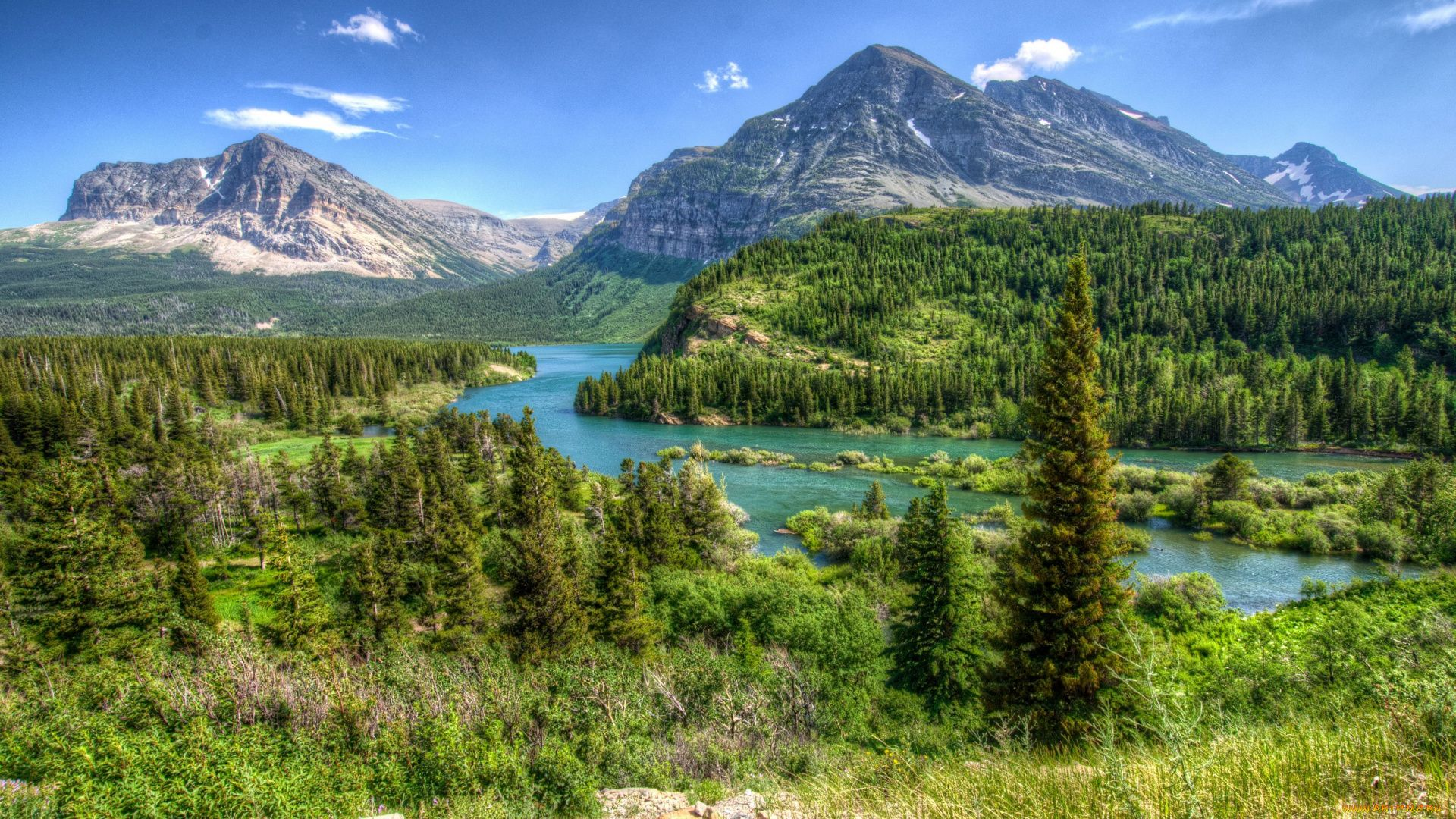 Glacier National Park full hd image