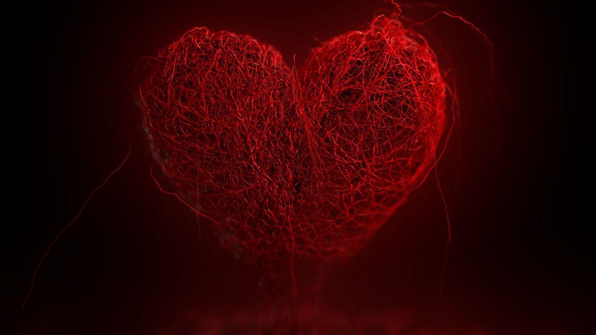 Heart wallpaper for laptop
