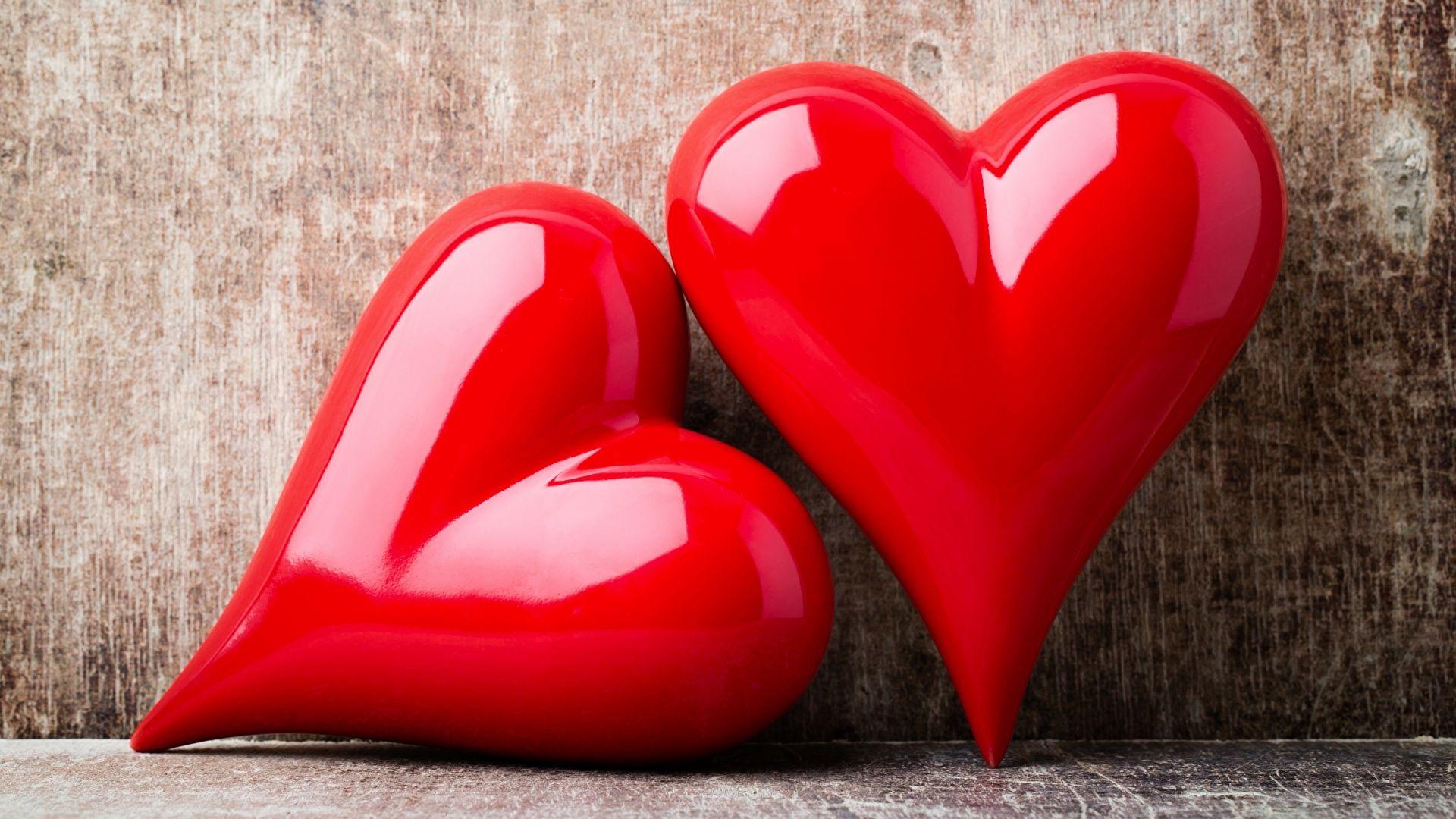 Heart laptop wallpaper