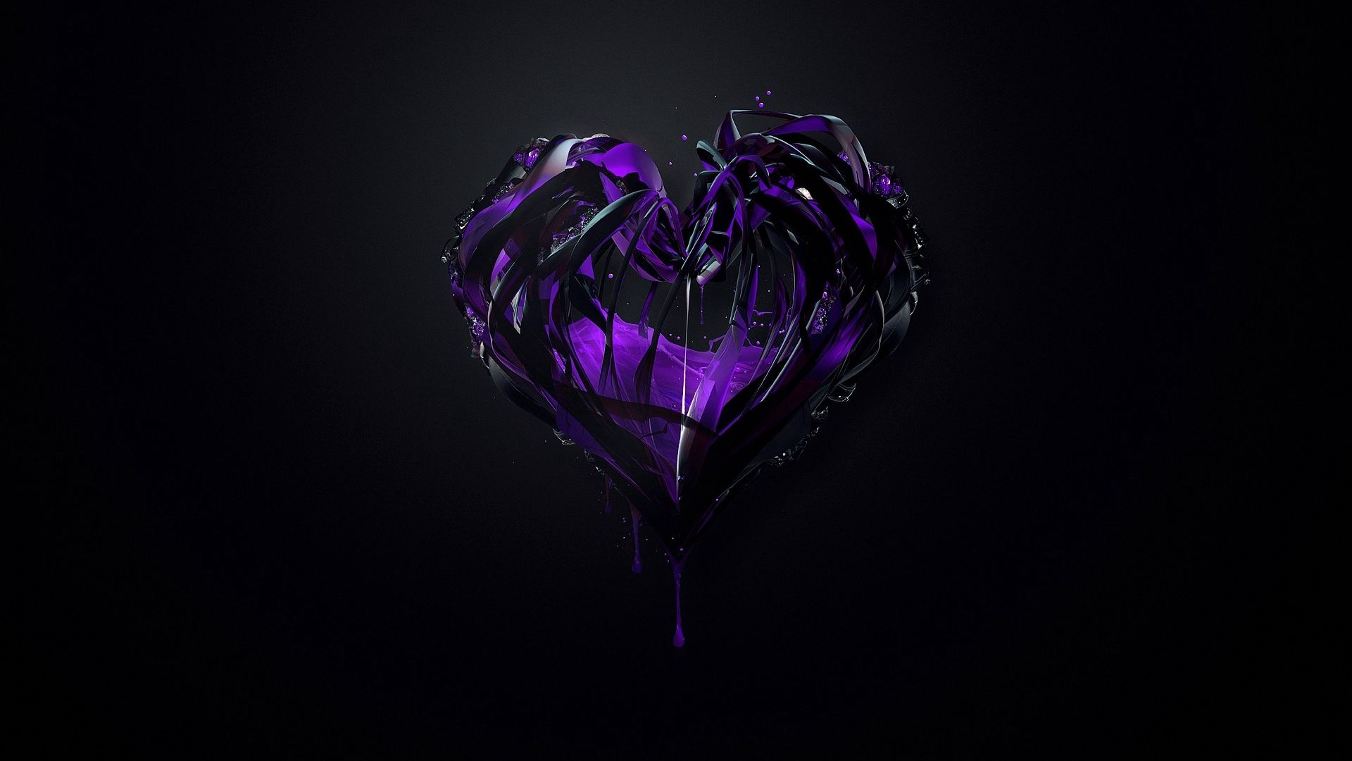 Heart desktop wallpaper