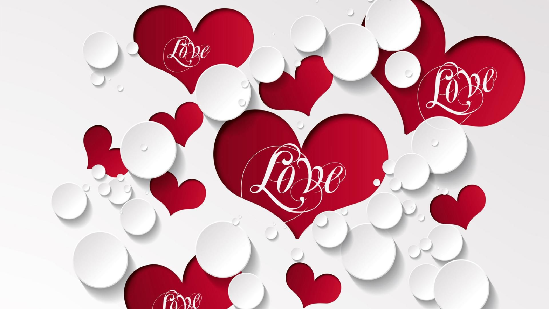 Heart full hd wallpaper