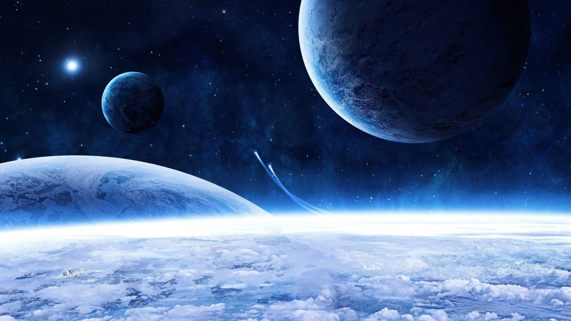 High Resolution Space Image good background