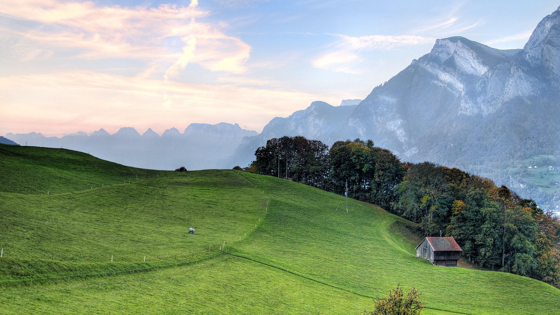 Hills Hd background image
