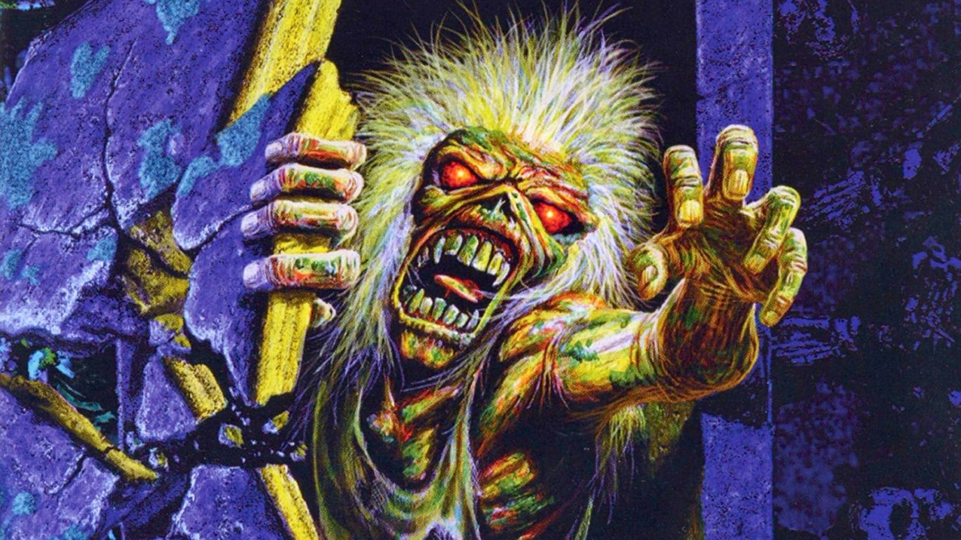 Iron Maiden Hd 1366x768 Wallpapers Wallpaperboat