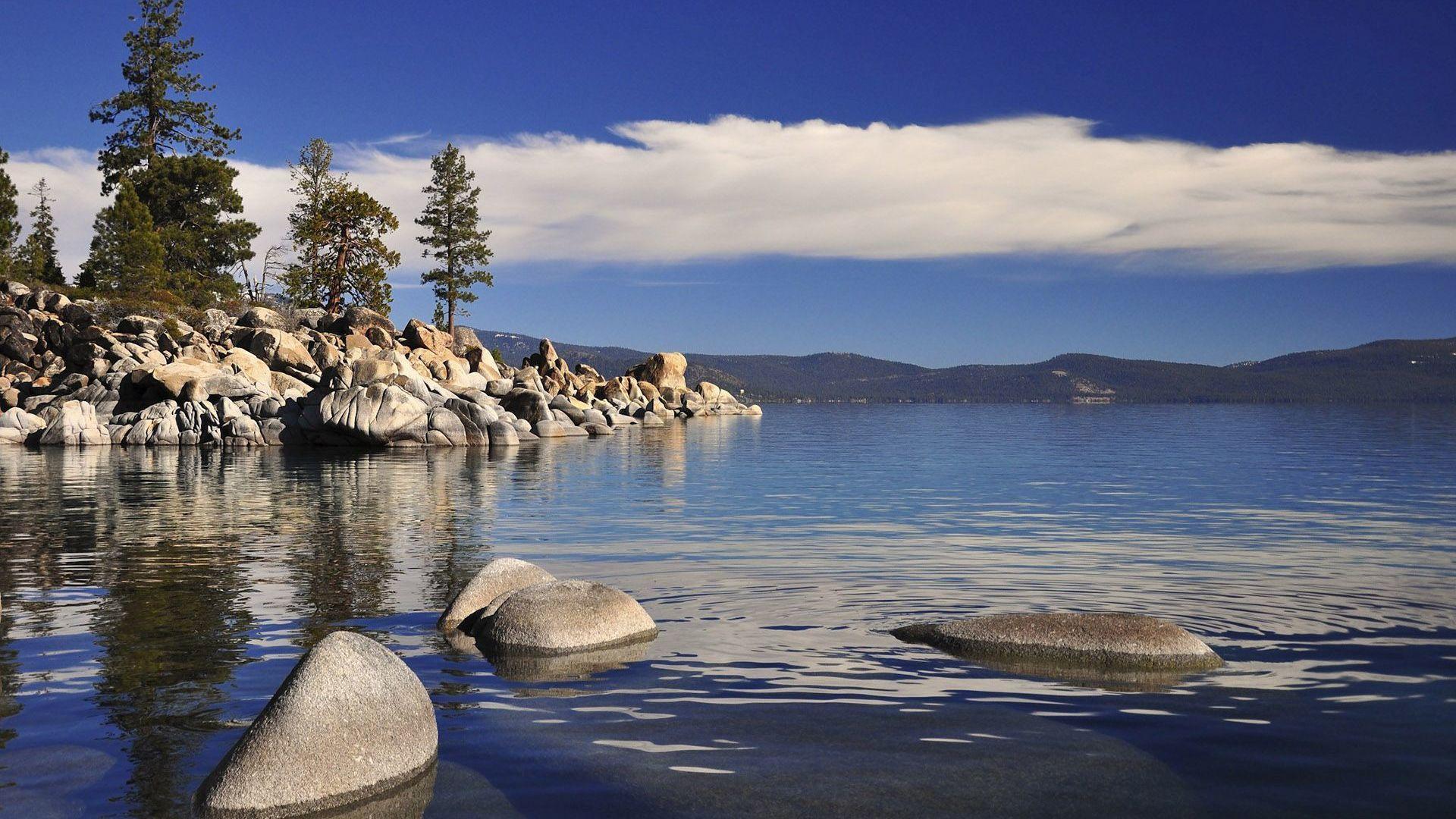 Lake Tahoe desktop background hd