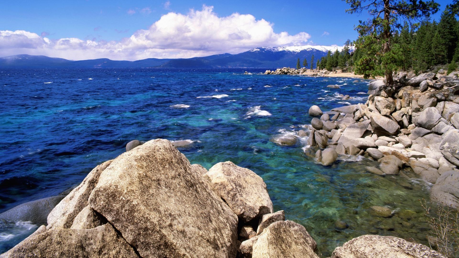 Lake Tahoe background