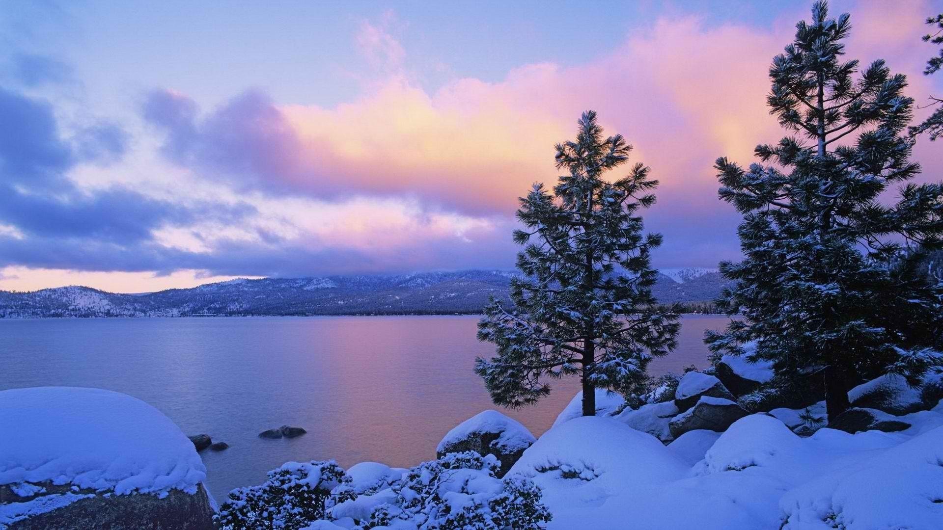 Lake Tahoe background hd