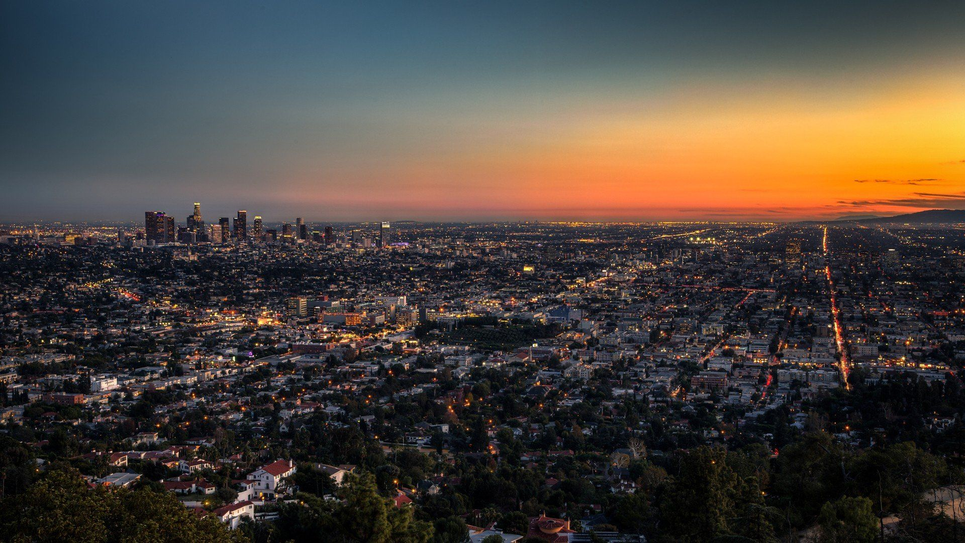 Los Angeles background picture hd