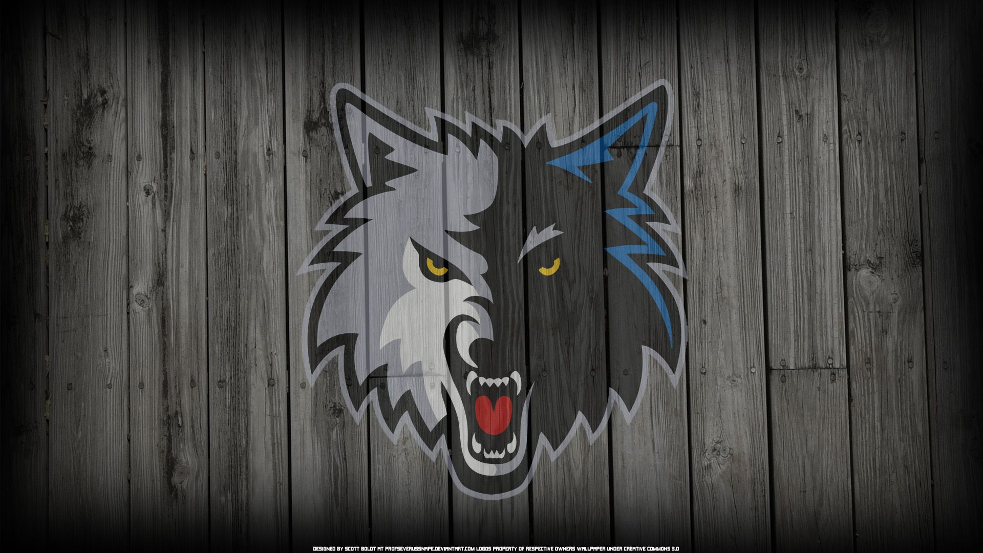 Minnesota Timberwolves background computer