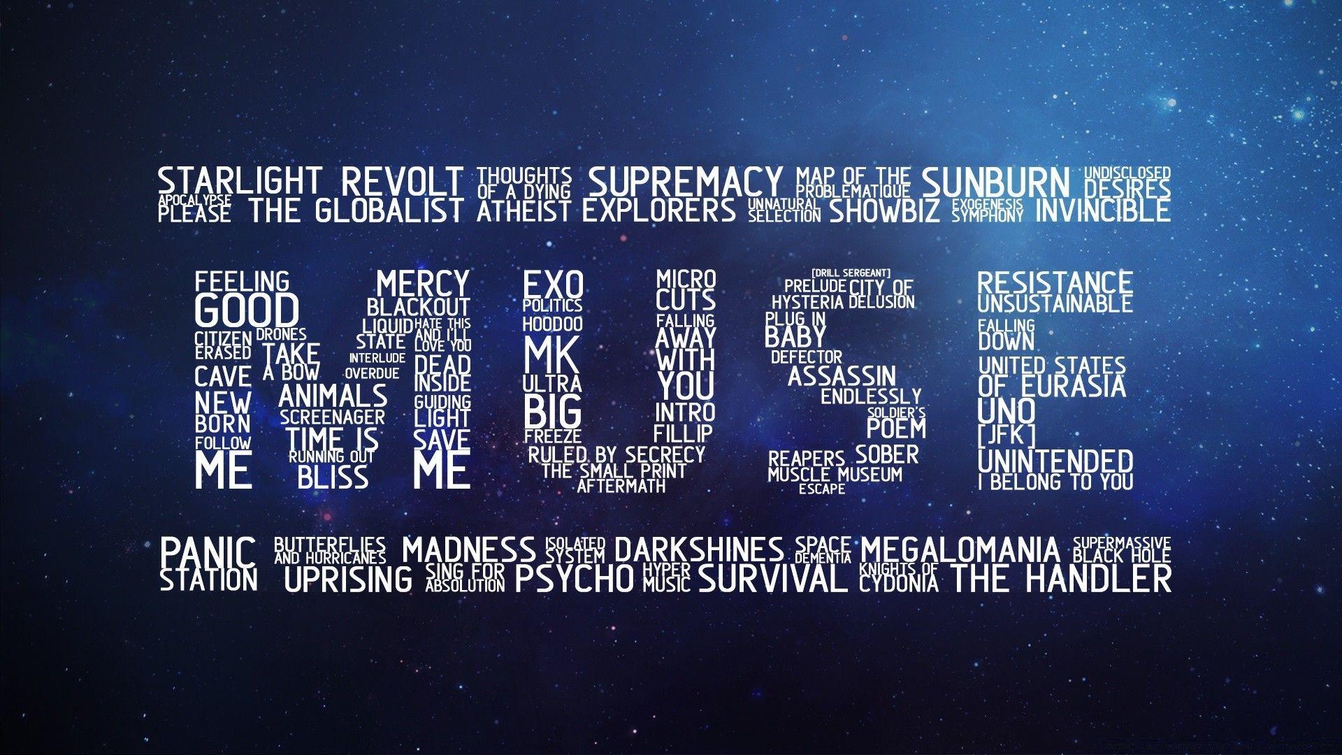 Muse desktop wallpaper