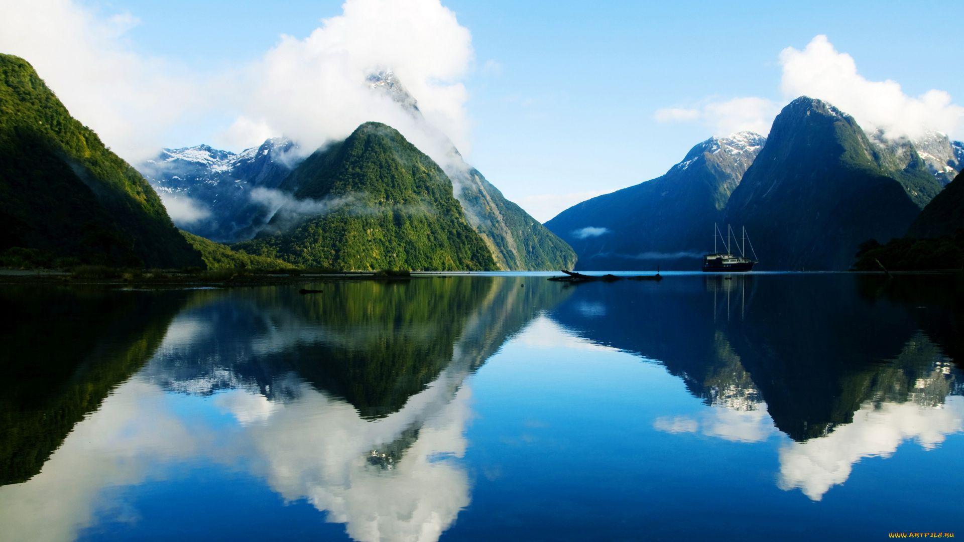 New Zealand desktop
