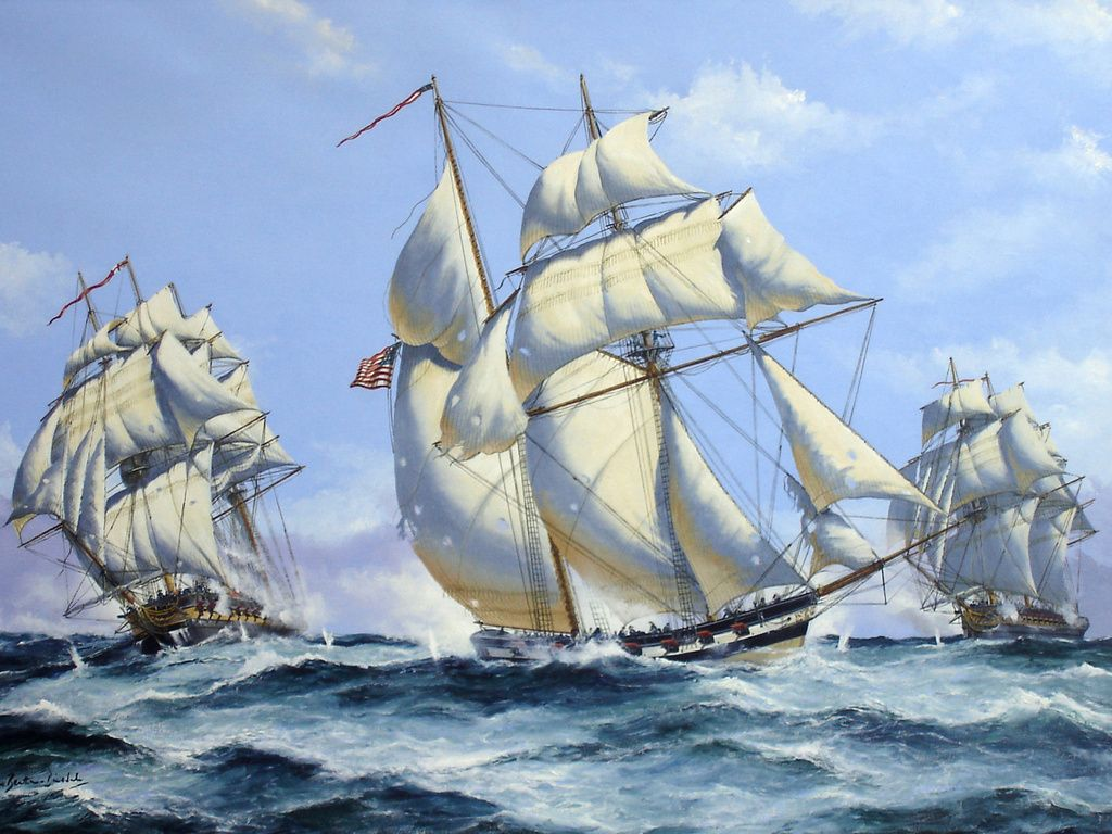 Painting By Numbers Sailing Ships