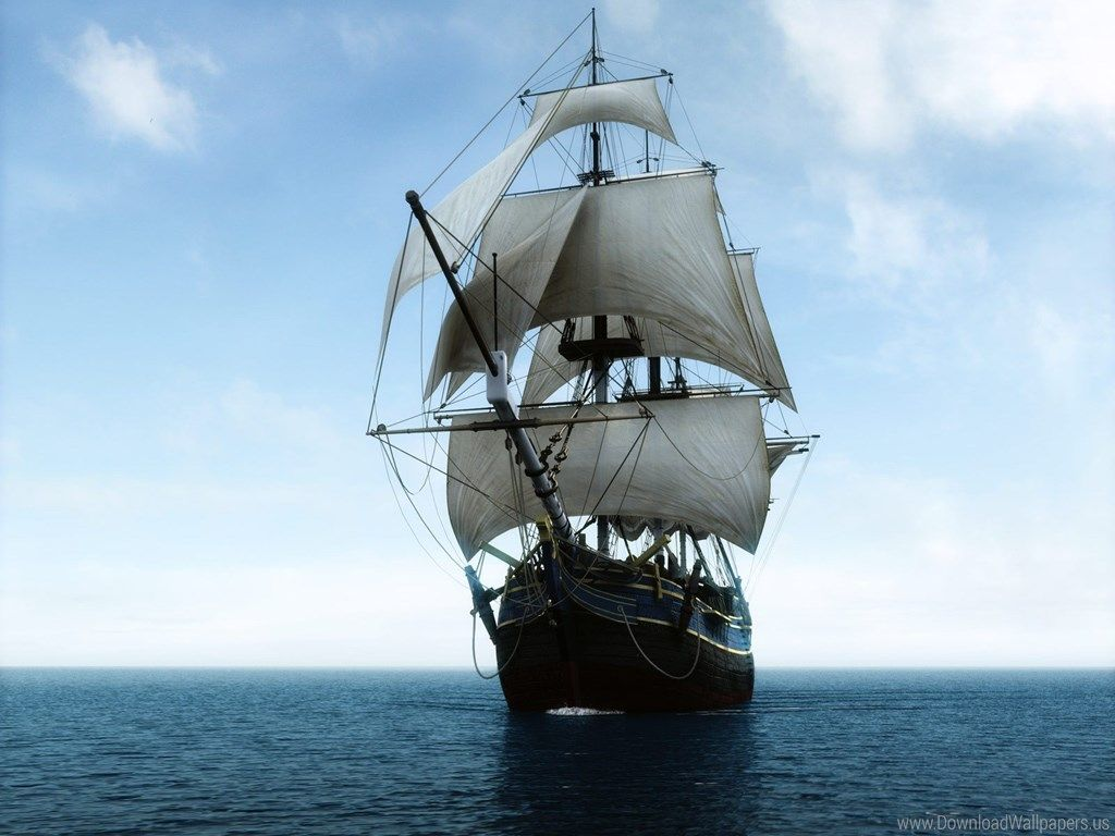 Pictures Of Ships With Sails