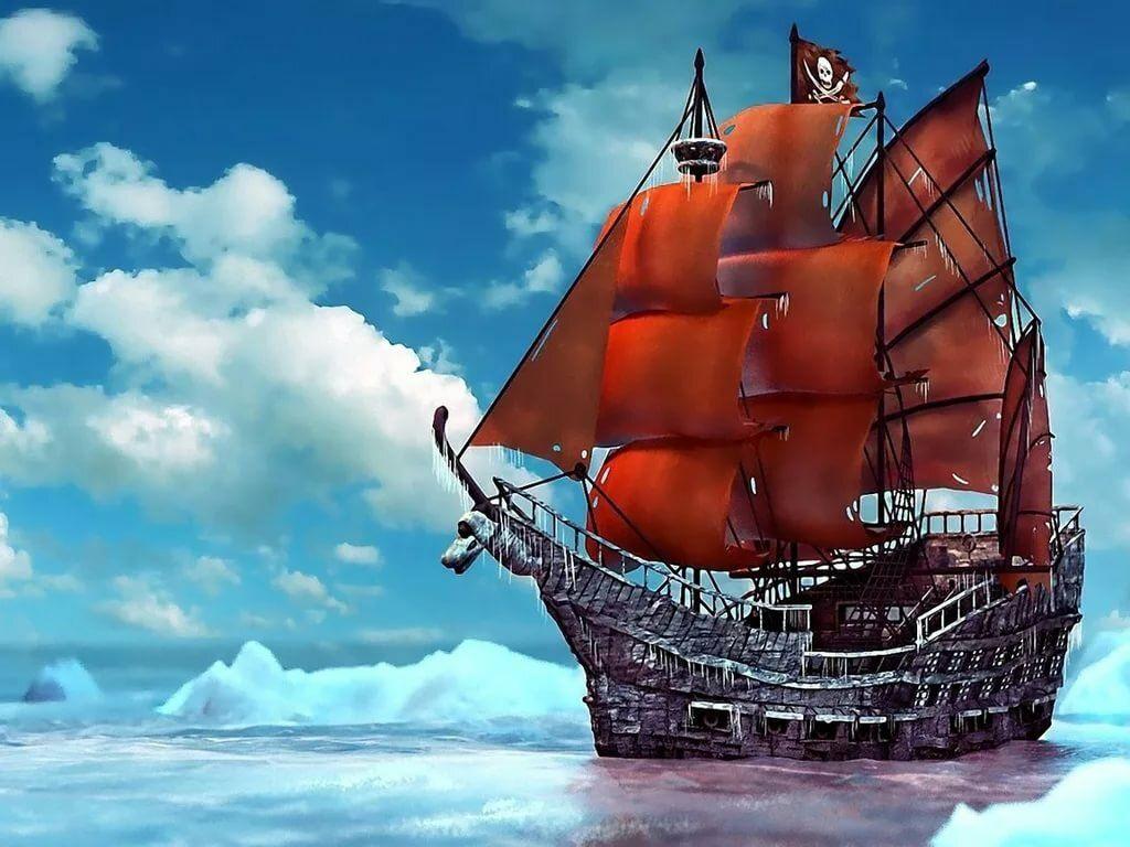 Pirate Sailing Ship