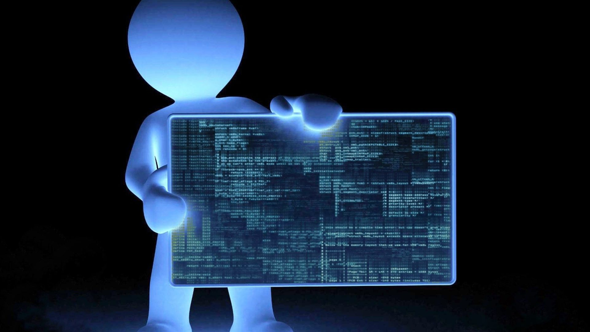 Programming wallpaper background
