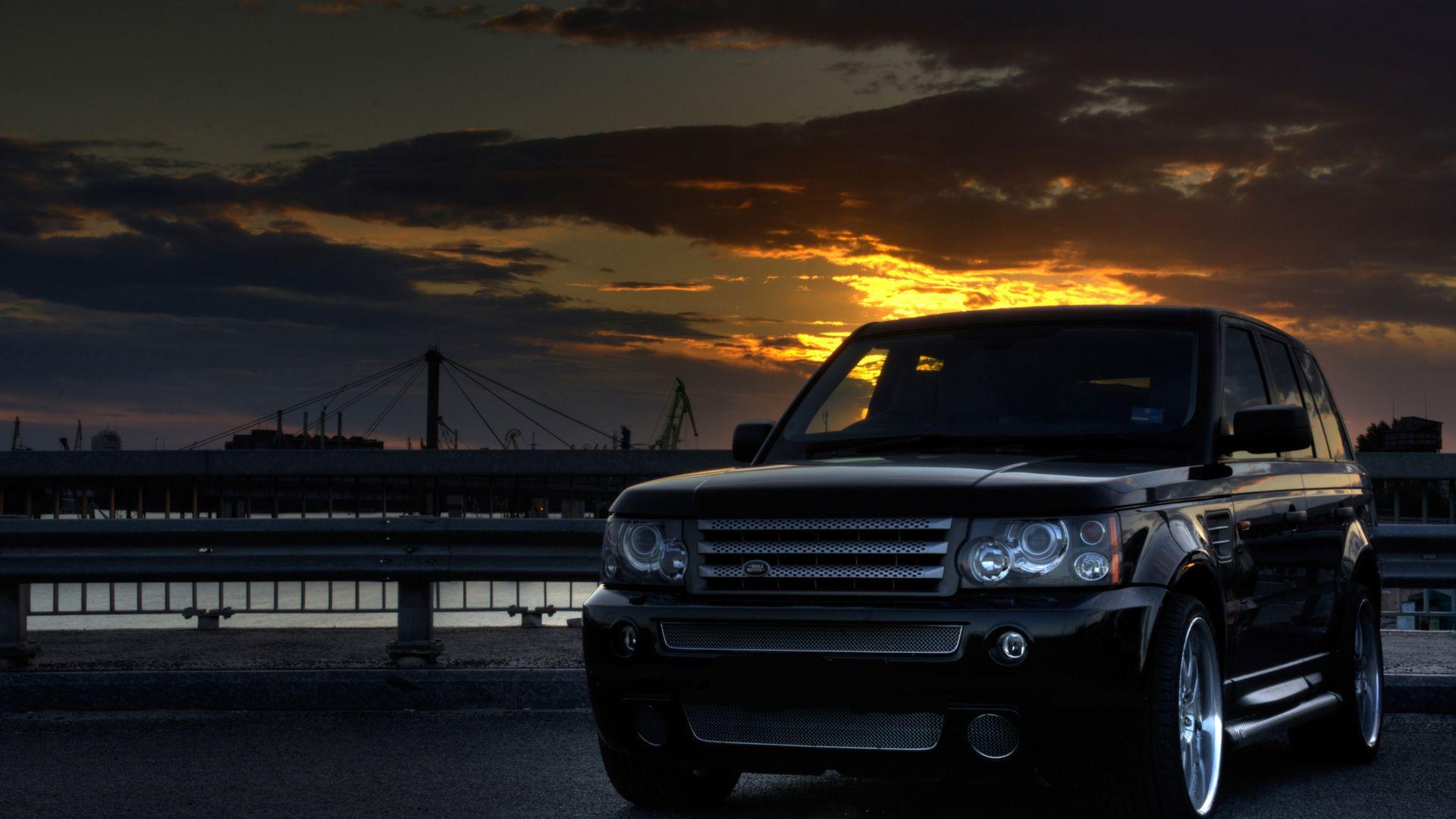 Range Rover good background