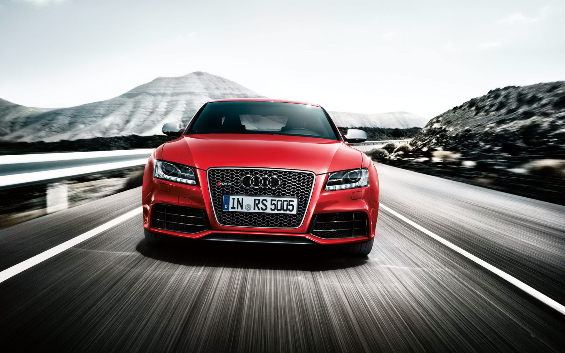 Red Car Audi