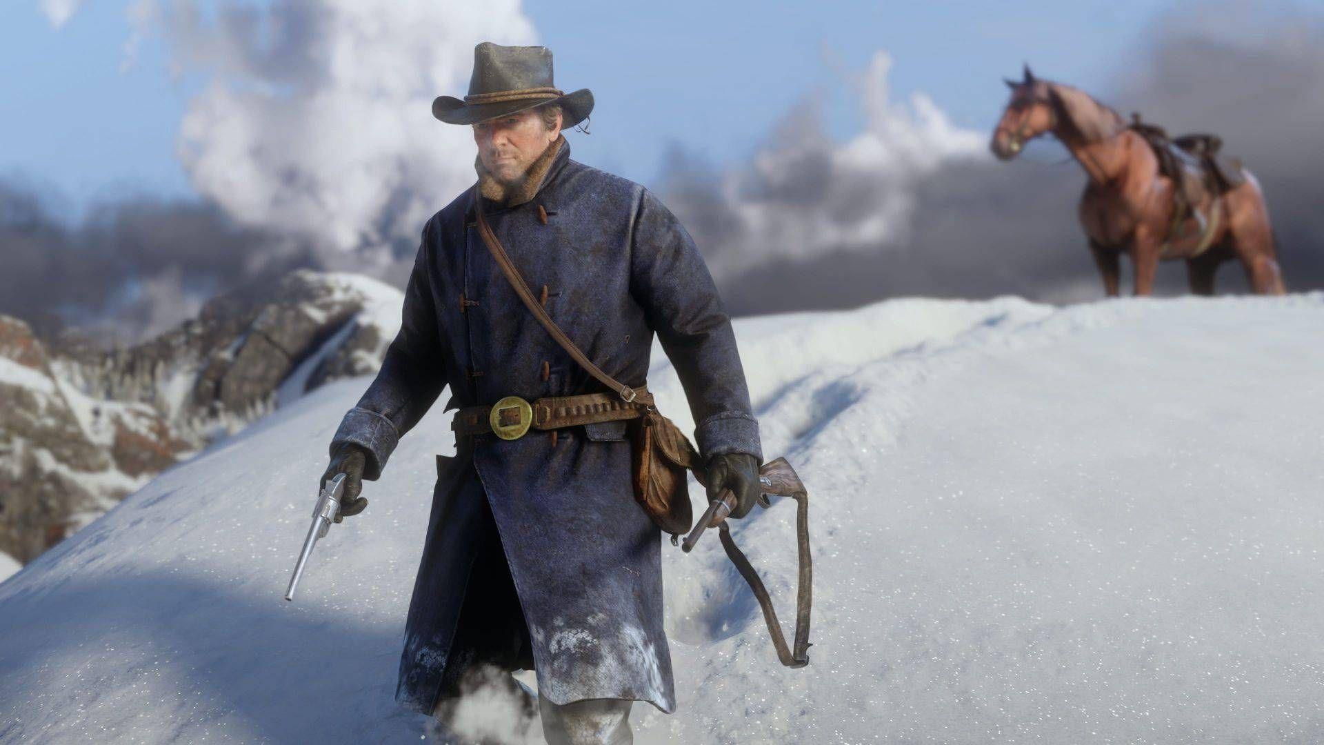 Red Dead Redemption 2 Arthur Morgan Wallpaper