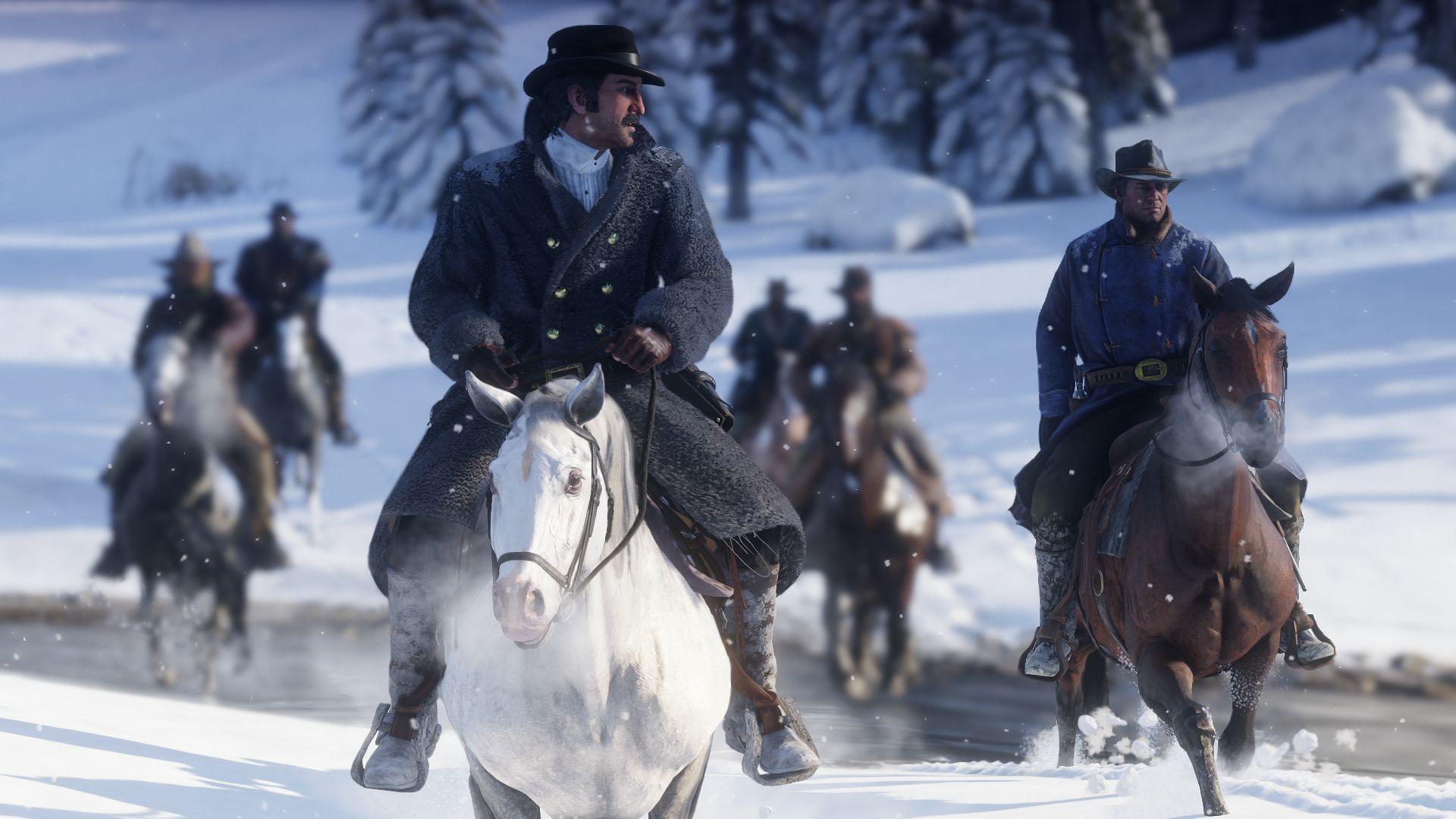 Red Dead Redemption 2 Winter