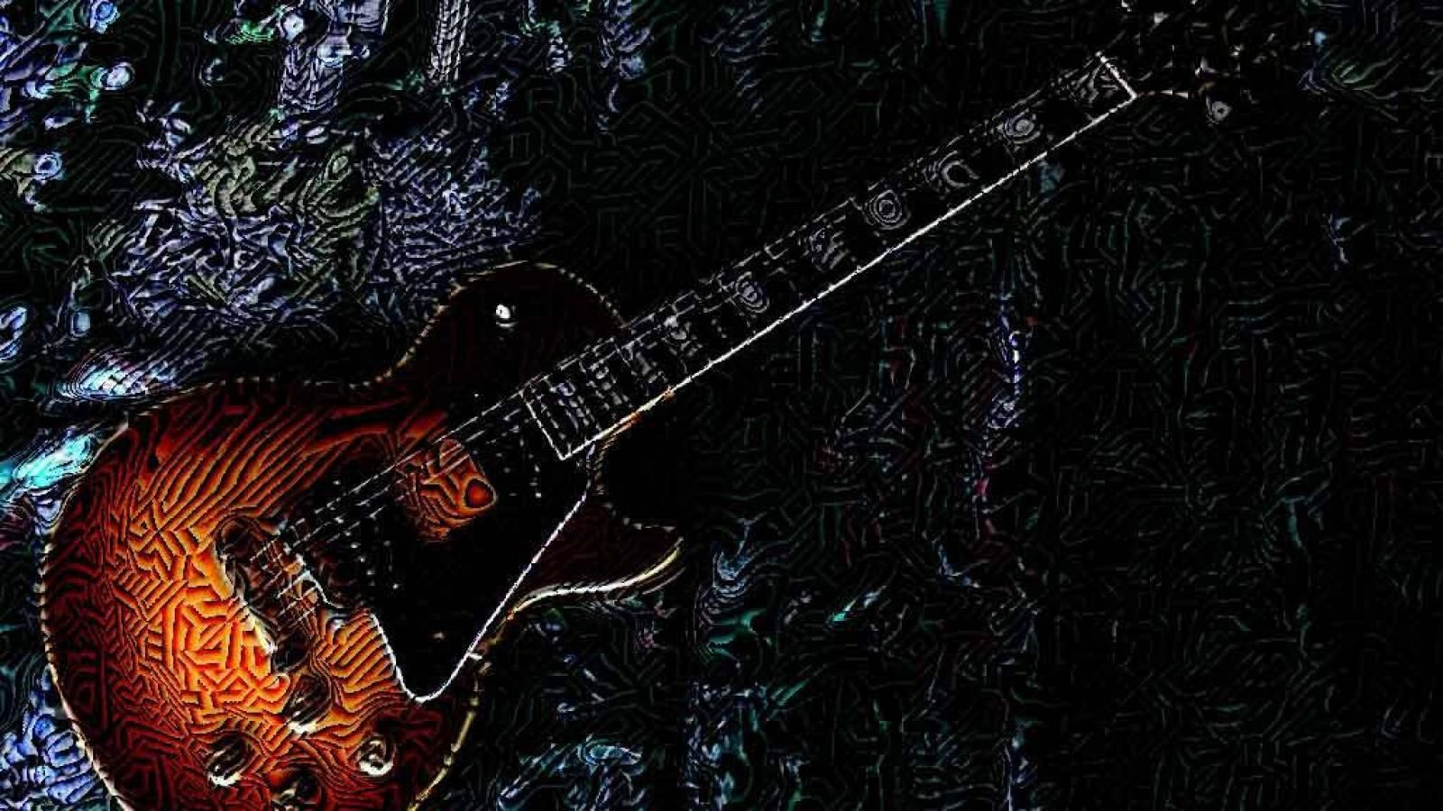 Rock Guitar Beautiful Pictures