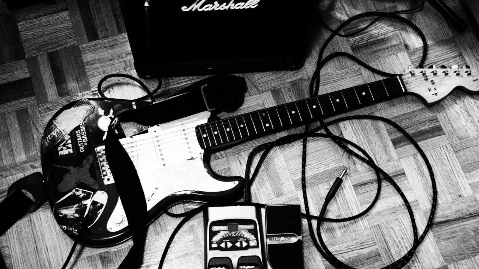 Rock Pictures Bw