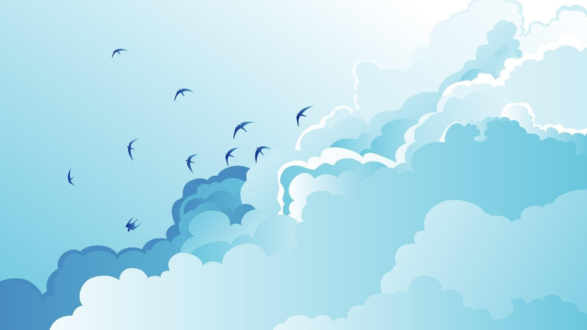 Sky Vector free background