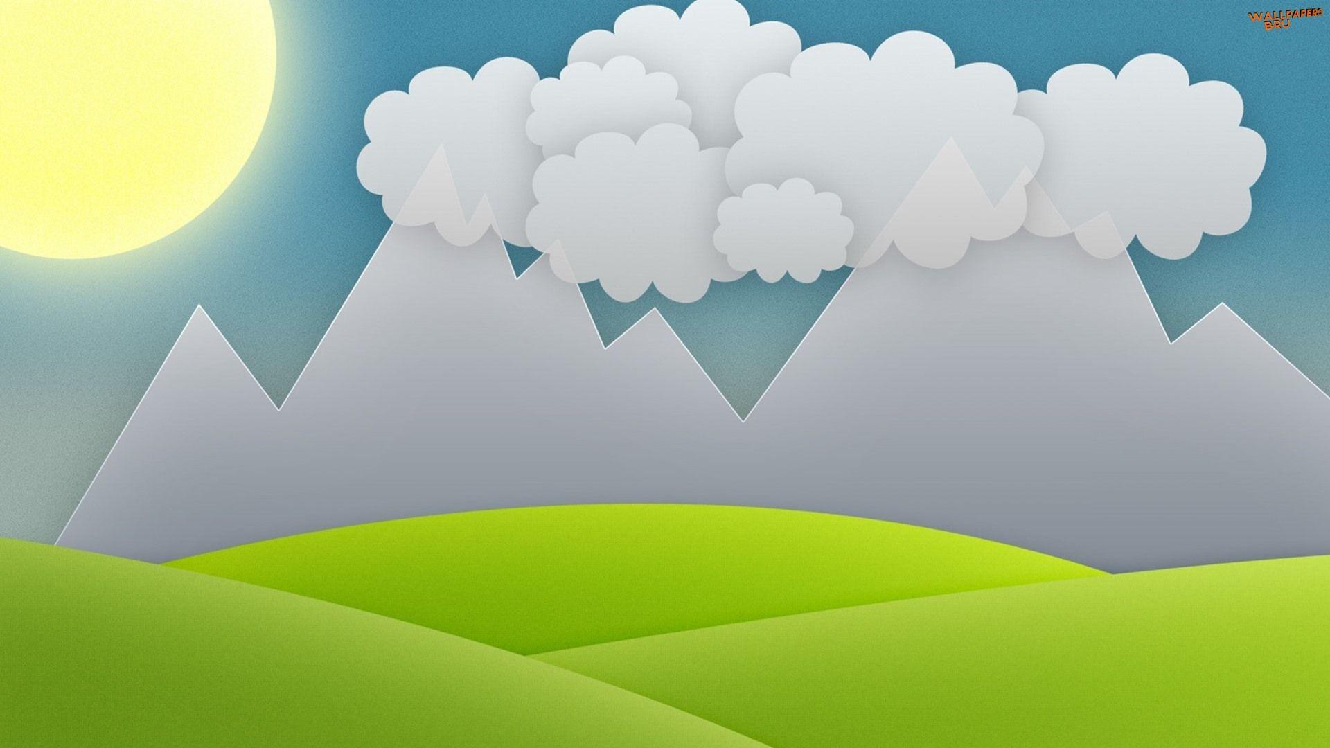 Sky Vector wallpaper background