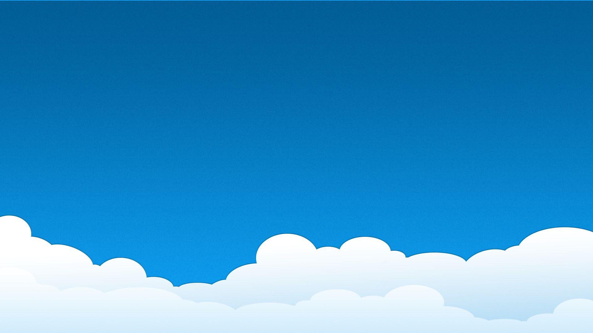 Sky Vector wallpaper for laptop